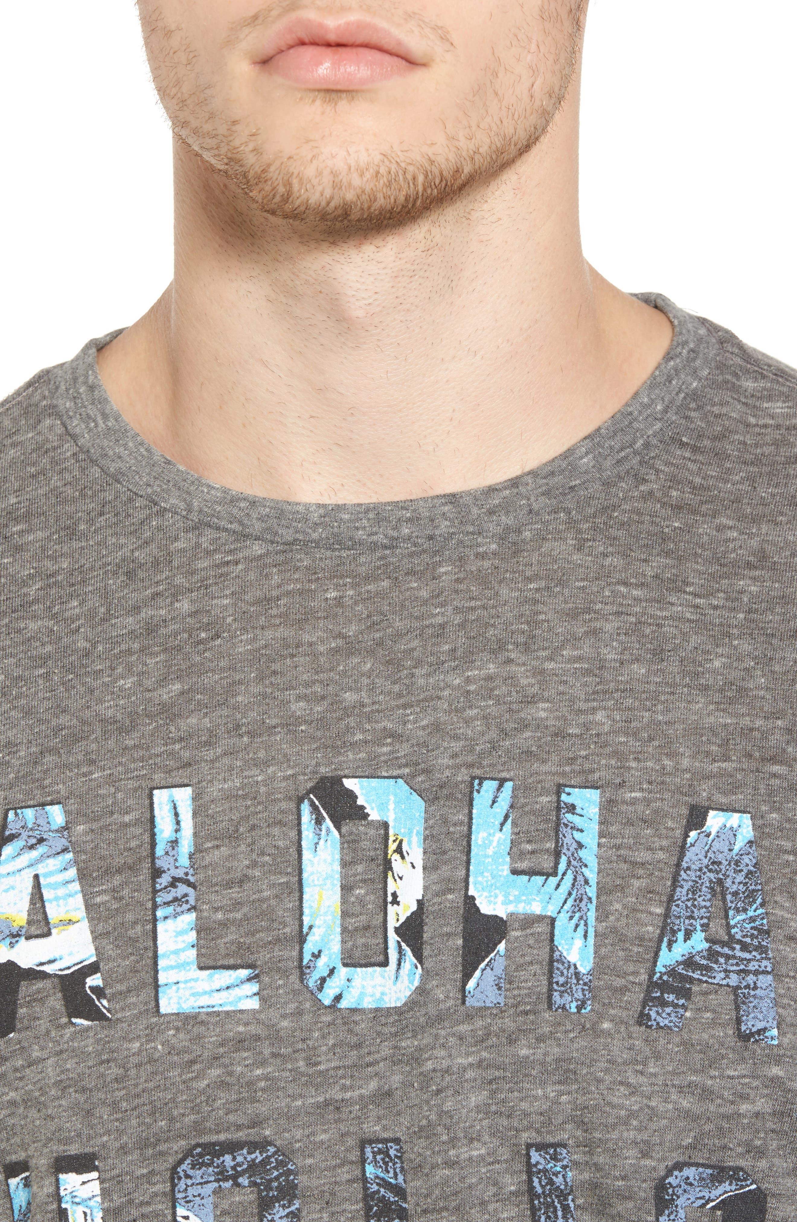 Alternate Image 4  - Sol Angeles Aloha Holic Graphic T-Shirt