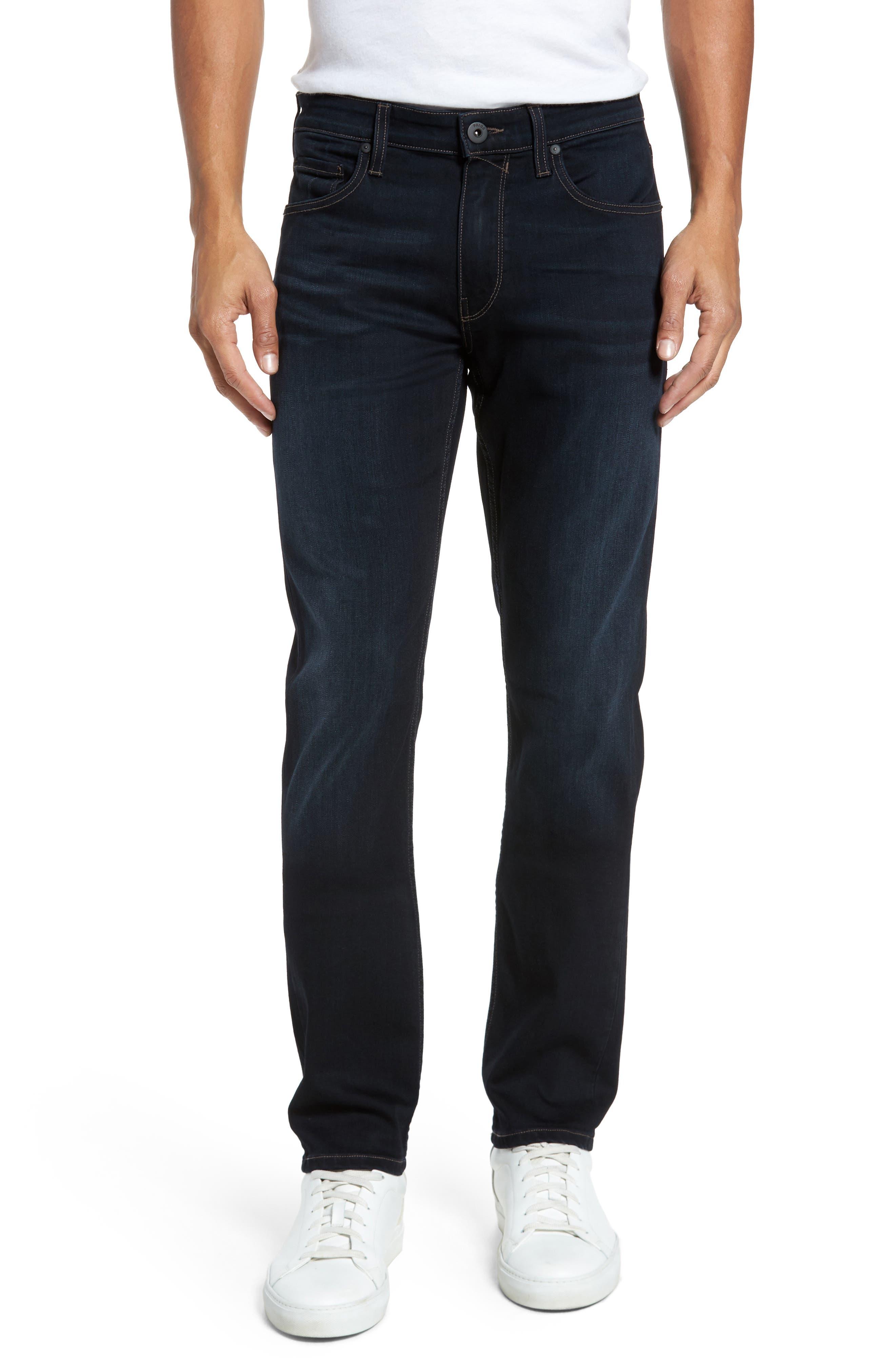 Main Image - PAIGE Transcend - Lennox Slim Fit Jeans (Rafter)