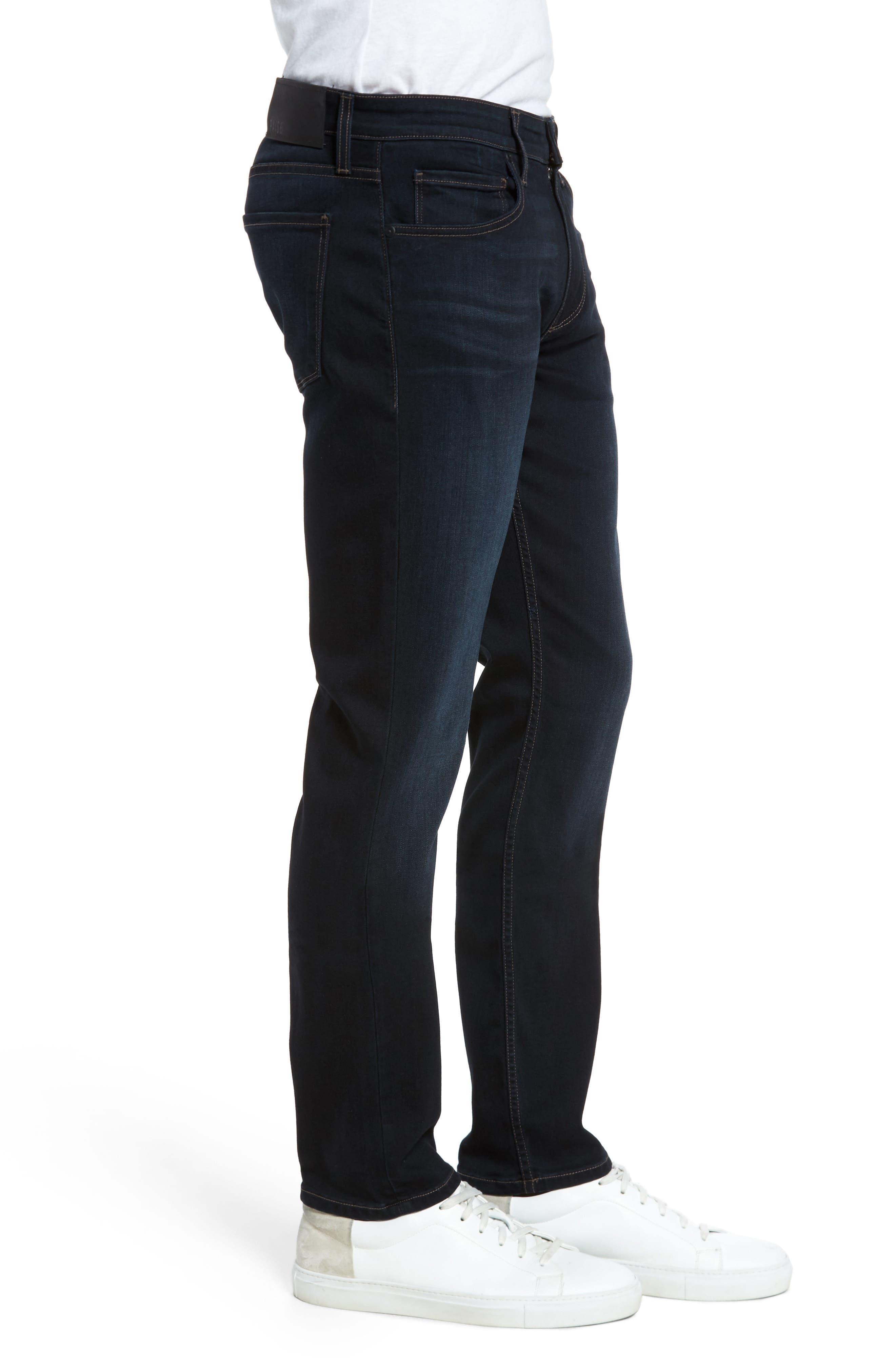 Alternate Image 3  - PAIGE Transcend - Lennox Slim Fit Jeans (Rafter)
