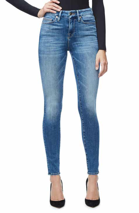 Good American Good Legs High Waist Skinny Jeans (Blue 107) (Regular   Plus  Size) 1bcb526fd9a1