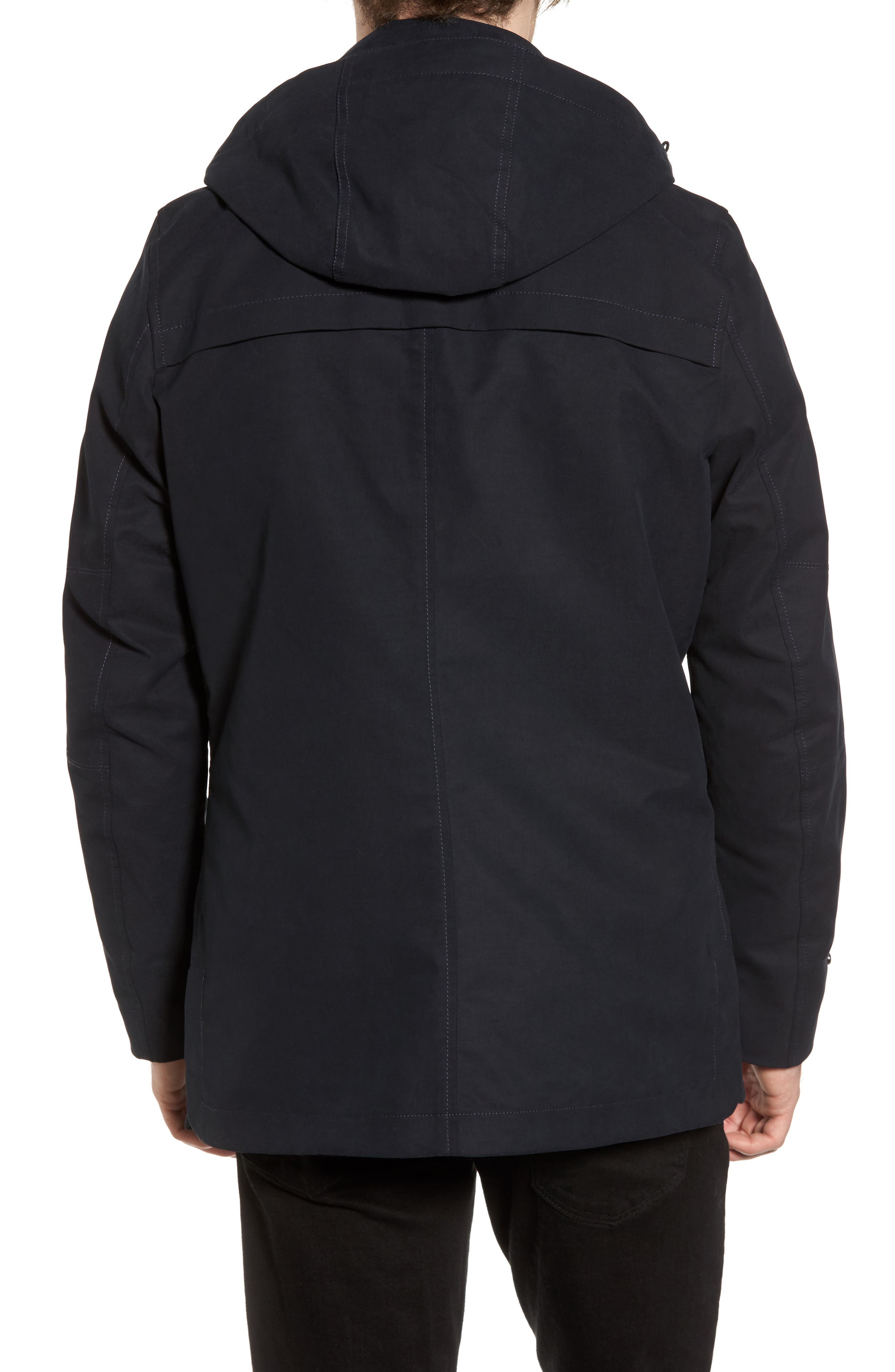 Alternate Image 2  - Scotch & Soda Classic Parka with Removable Hood