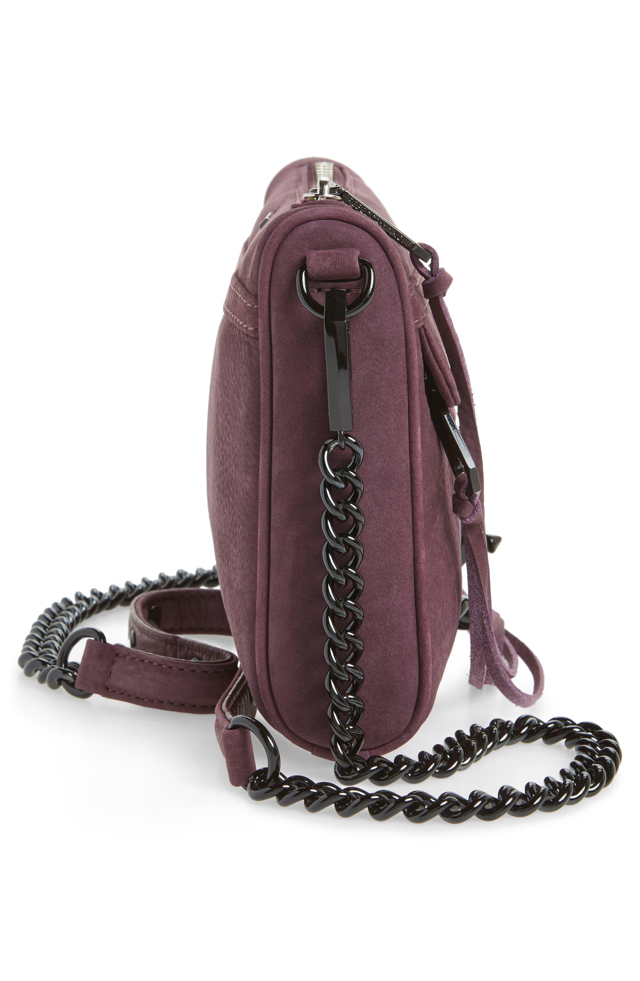 Alternate Image 4  - Rebecca Minkoff Mini MAC Nubuck Convertible Crossbody Bag