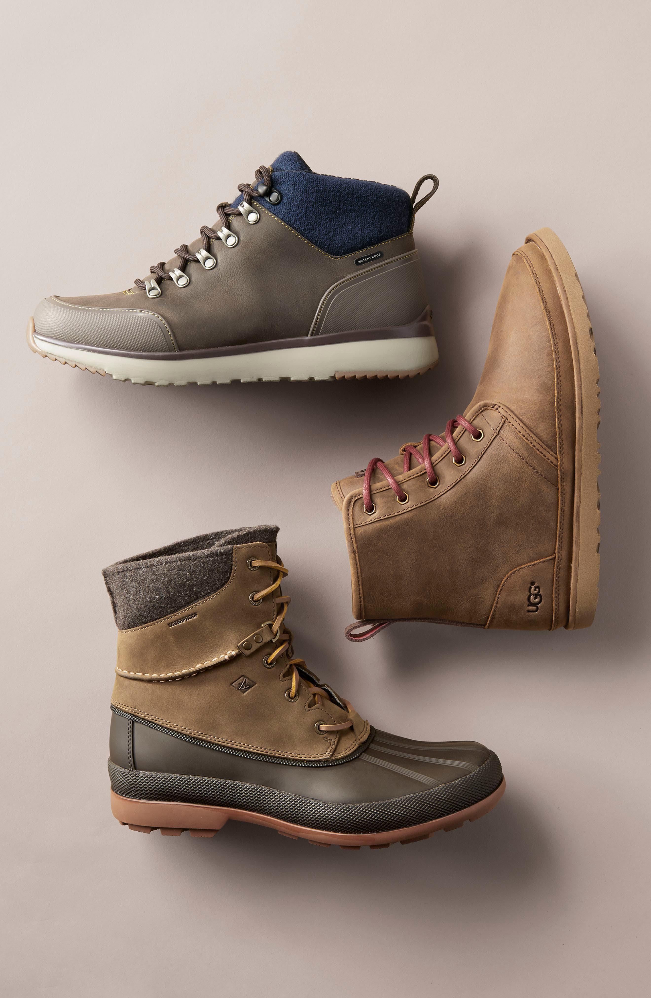 Alternate Image 7  - UGG® Harkley Plain Toe Boot (Men)