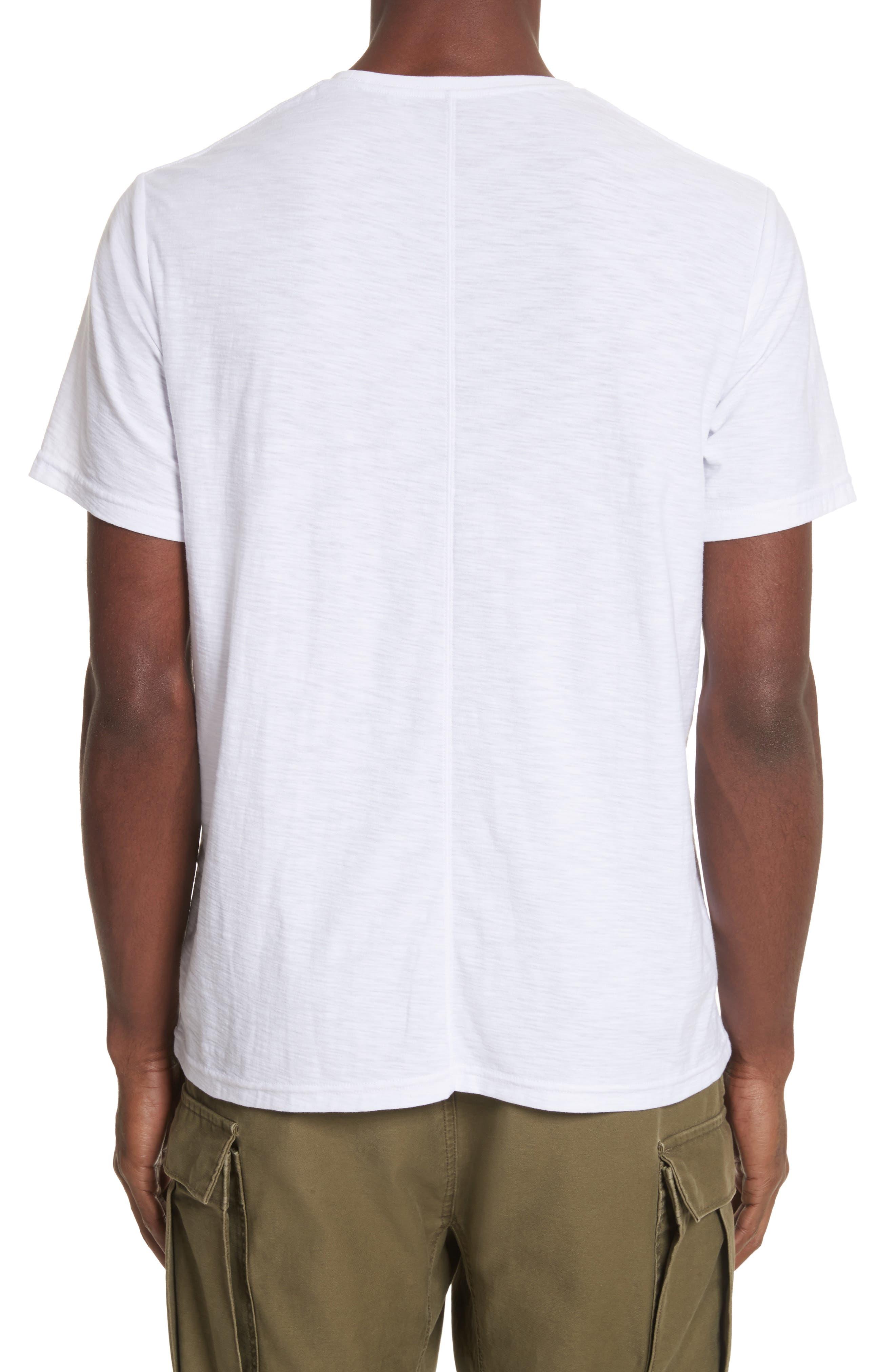 Animal Skeleton Graphic T-Shirt,                             Alternate thumbnail 2, color,                             White