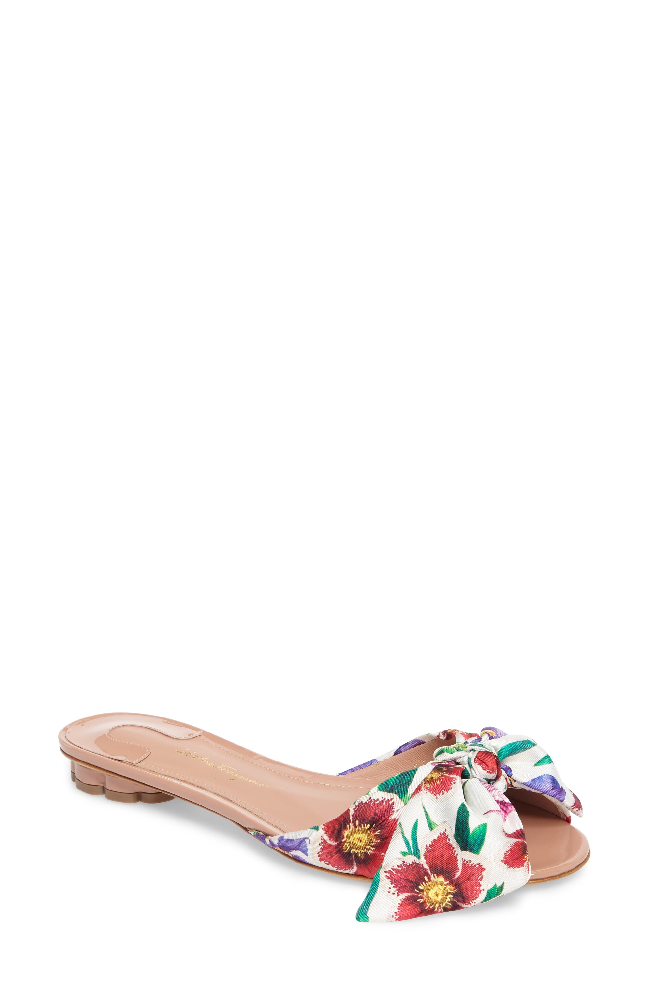 Salvatore Ferragamo Bow Sandal (Women)