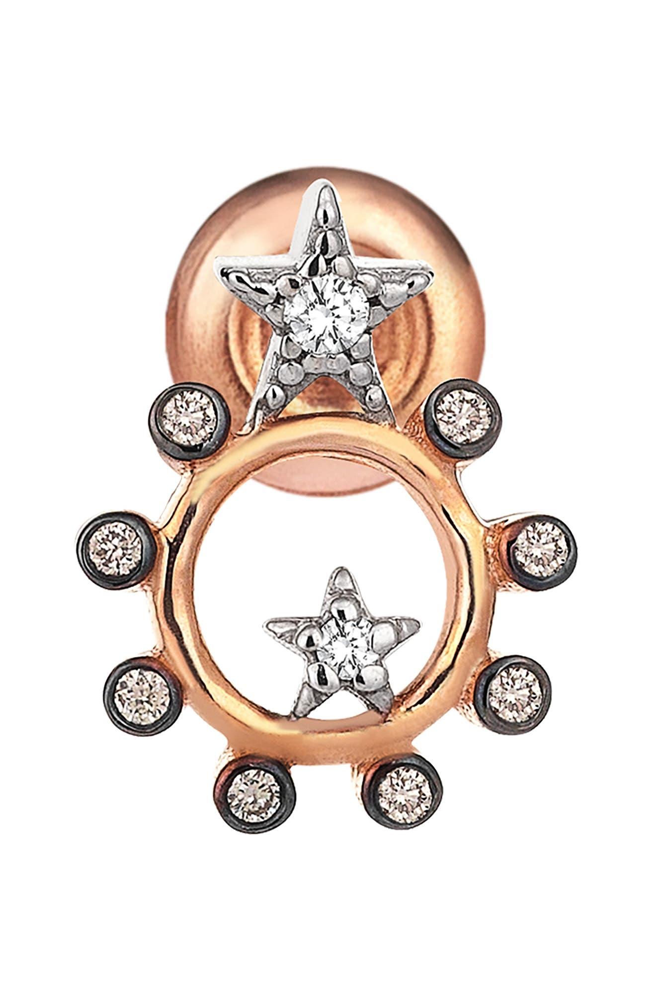Main Image - Kismet by Milka Diamond Stud Earring