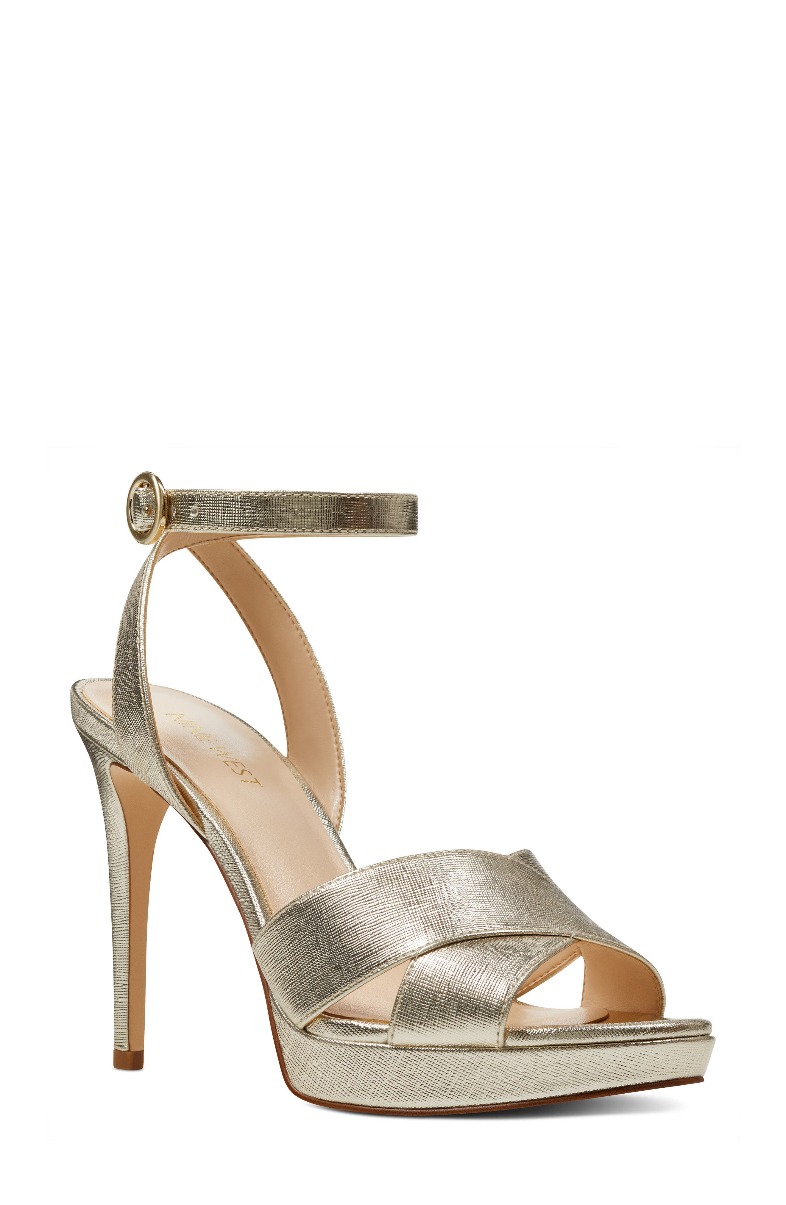 Nine West Quisha Ankle Strap Sandal (Women)