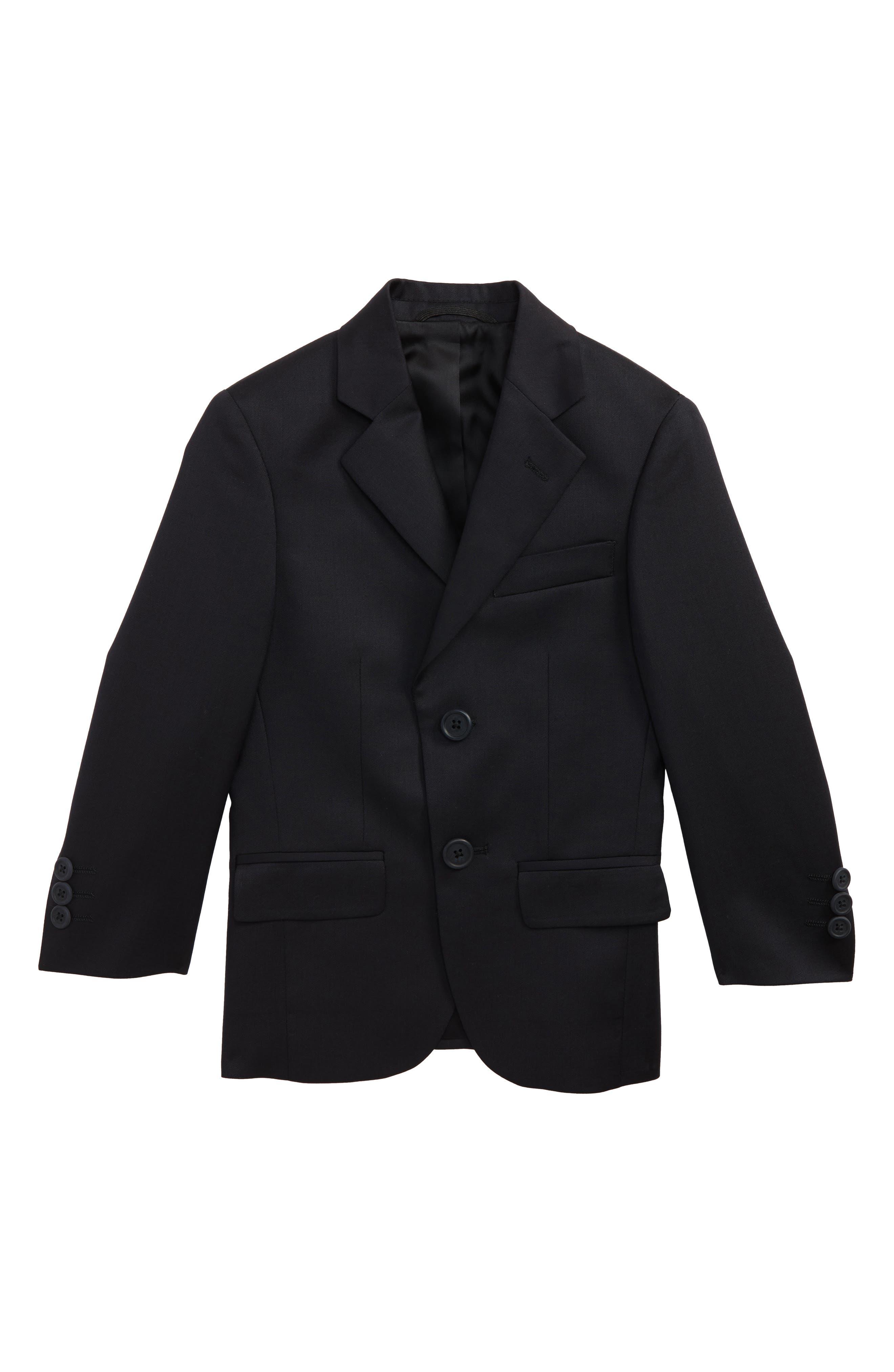 Main Image - JB Jr Solid Wool Sport Coat (Little Boys & Big Boys)