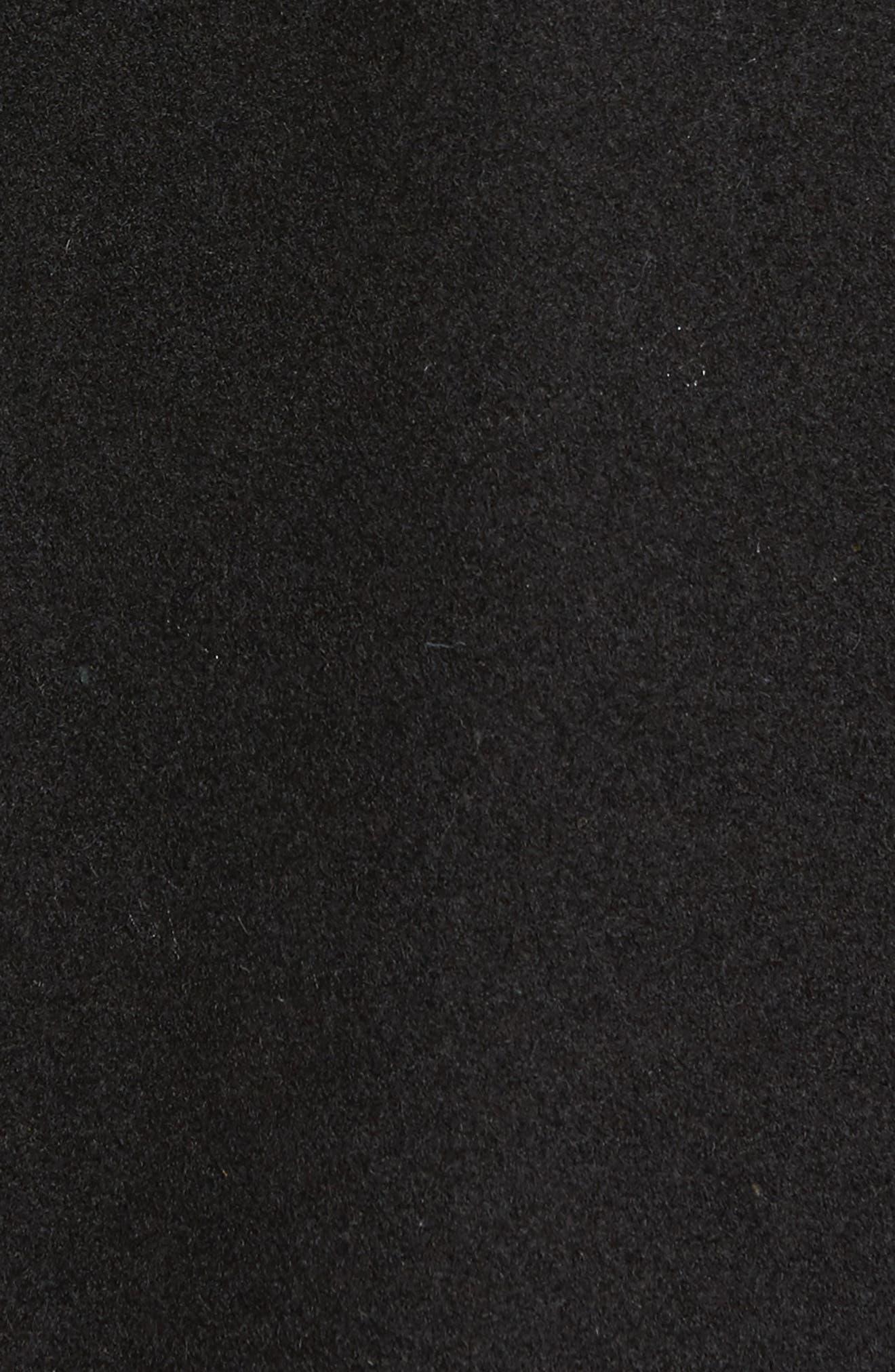 Alternate Image 6  - Calvin Klein Grosgrain Double-Breasted Peacoat