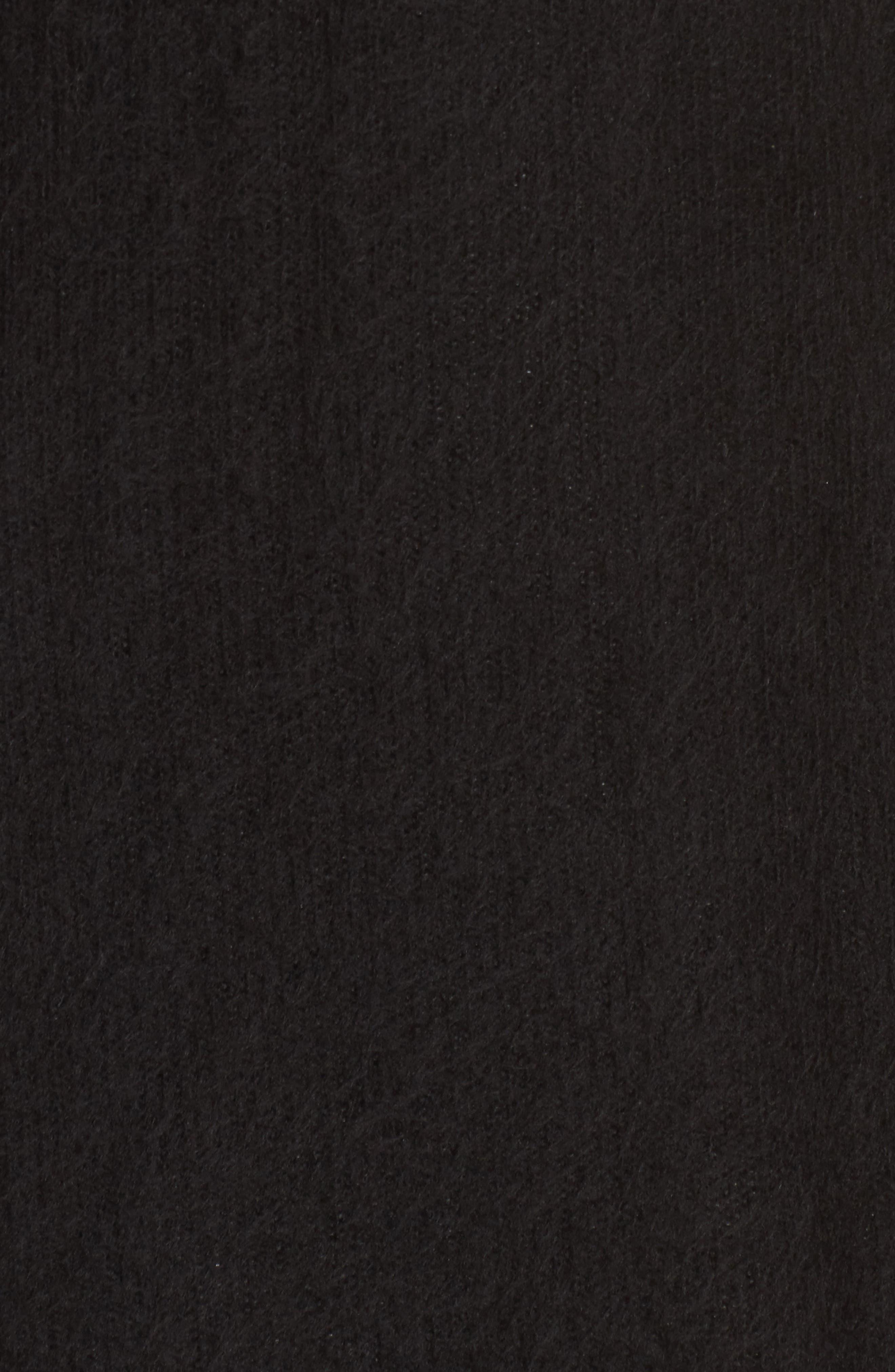 Alternate Image 5  - Socialite Fuzzy Sweater Midi Dress