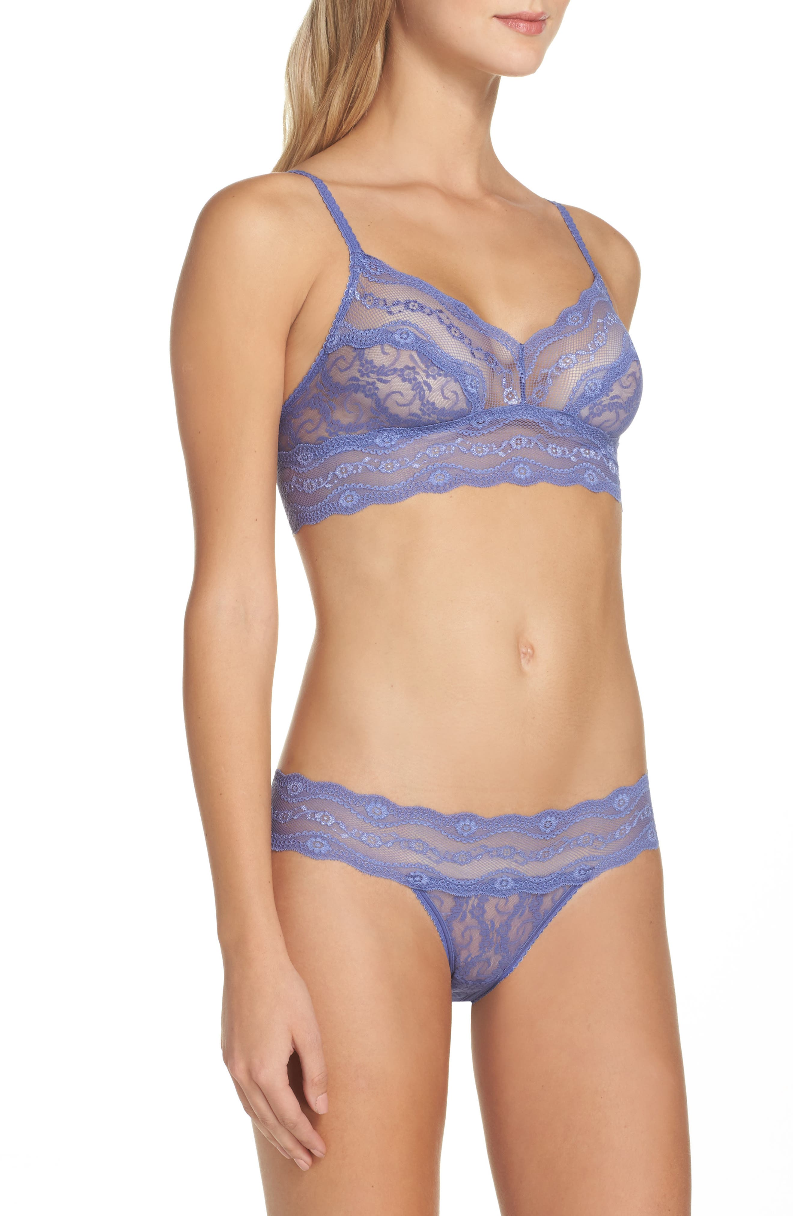 Alternate Image 7  - b.tempt'd by Wacoal 'Lace Kiss' Bikini (3 for $33)