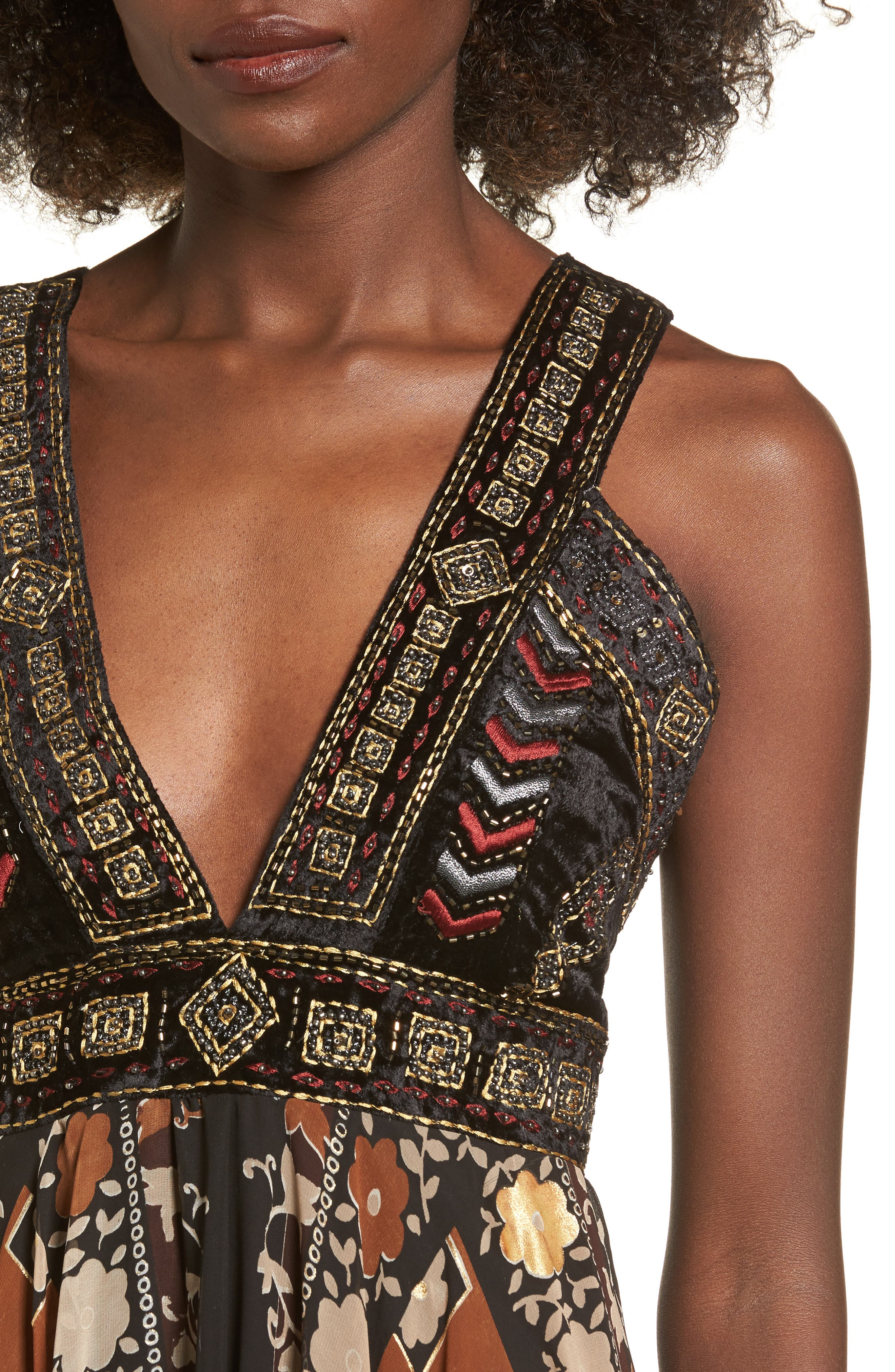 Alternate Image 5  - Raga Sonder Embroidered Maxi Dress