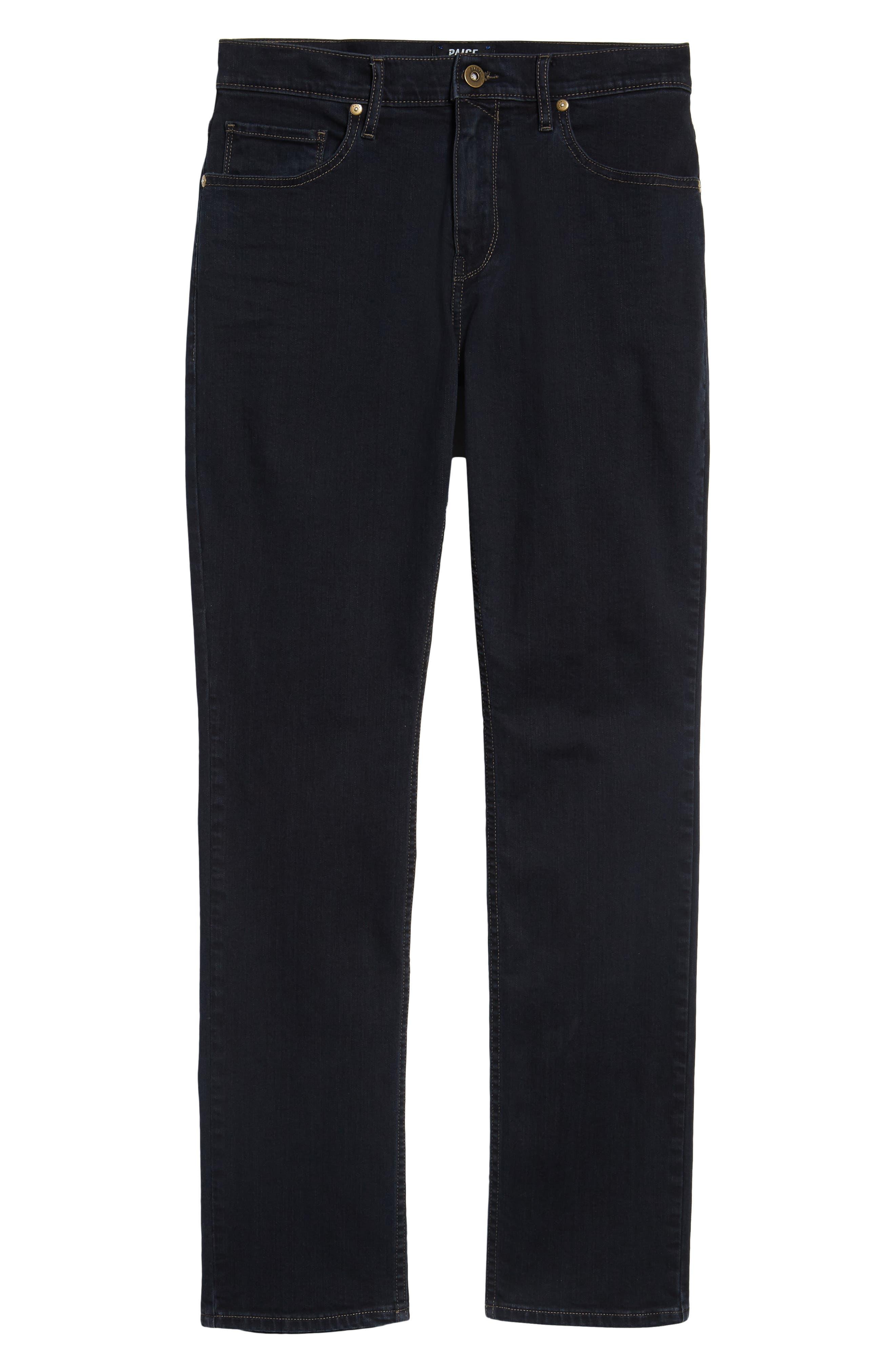 Alternate Image 6  - PAIGE Federal Slim Straight Leg Jeans (Webster)