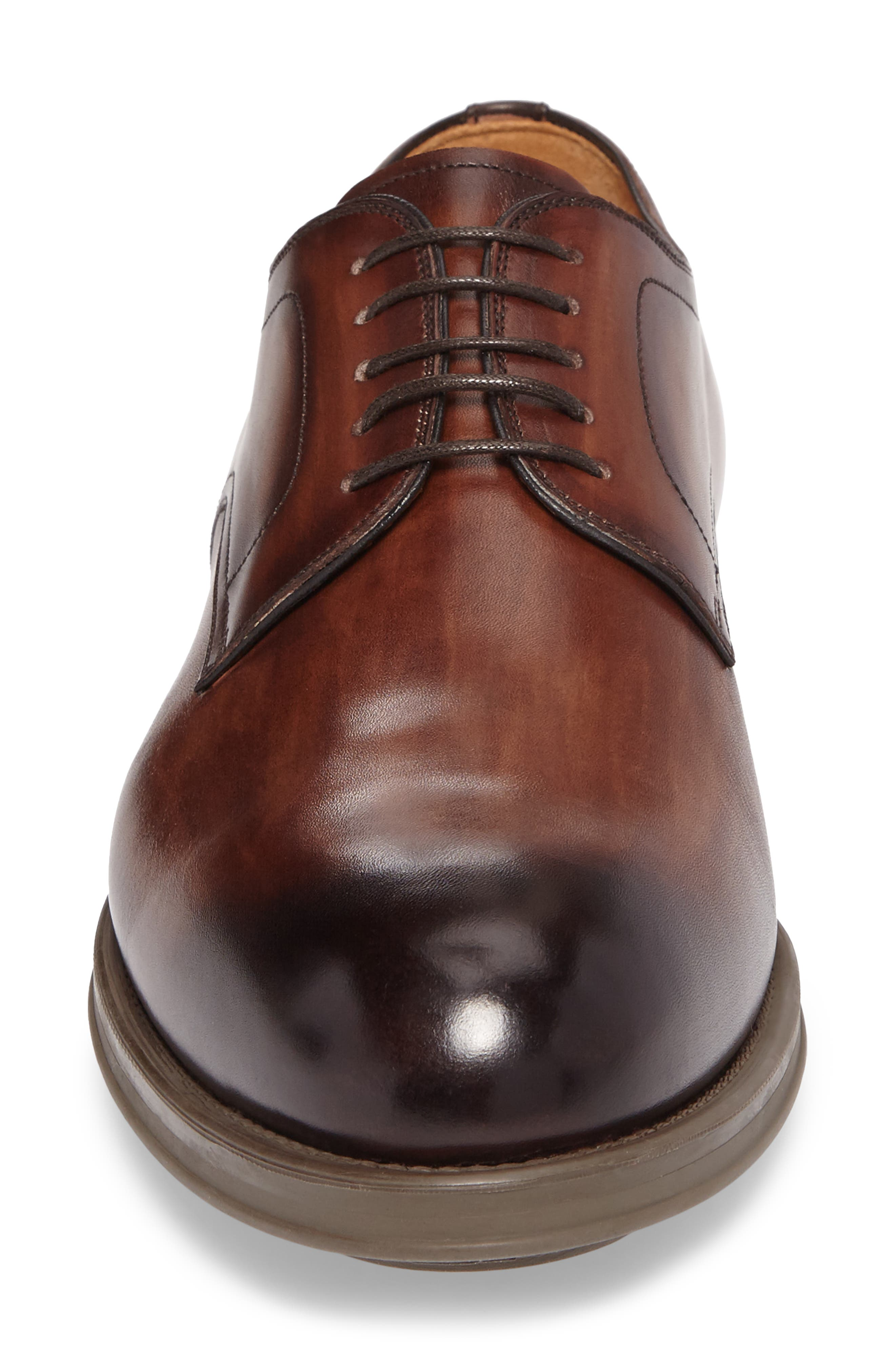 Alternate Image 4  - Magnanni Thiago Plain Toe Derby (Men)