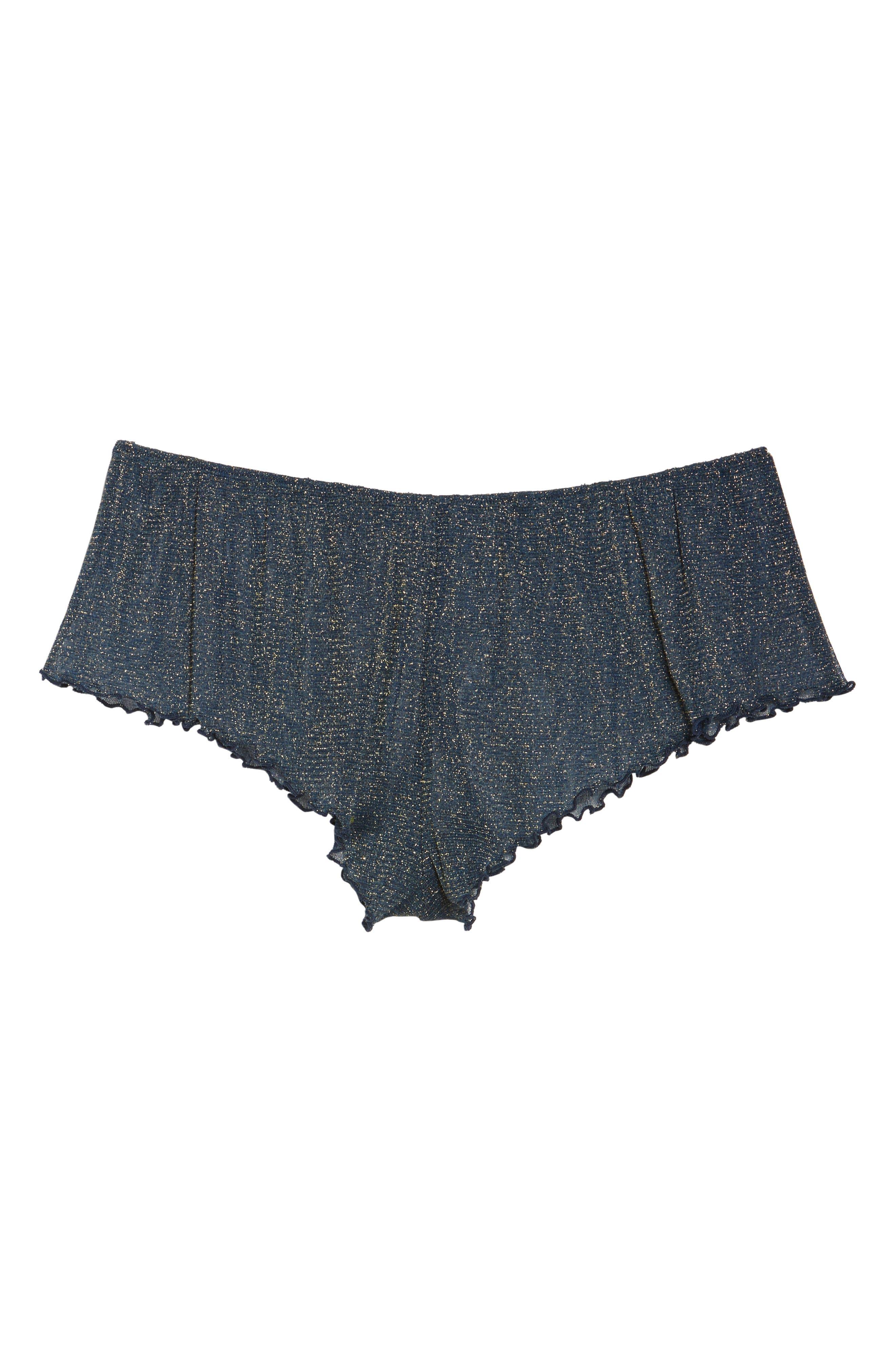 Alternate Image 5  - Chelsea28 Shimmer Nights Knicker Shorts