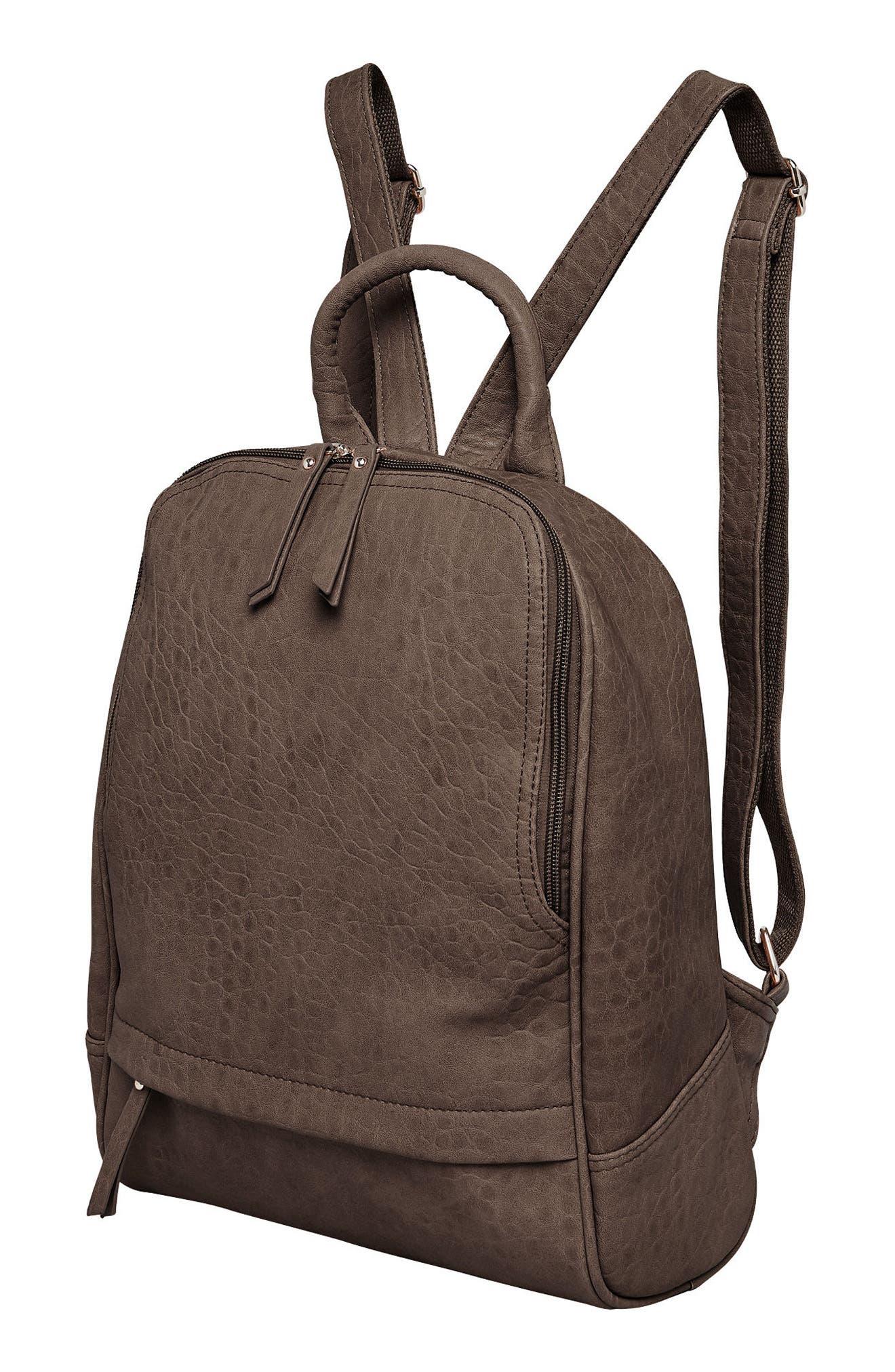 Alternate Image 4  - Urban Originals My Way Vegan Leather Backpack