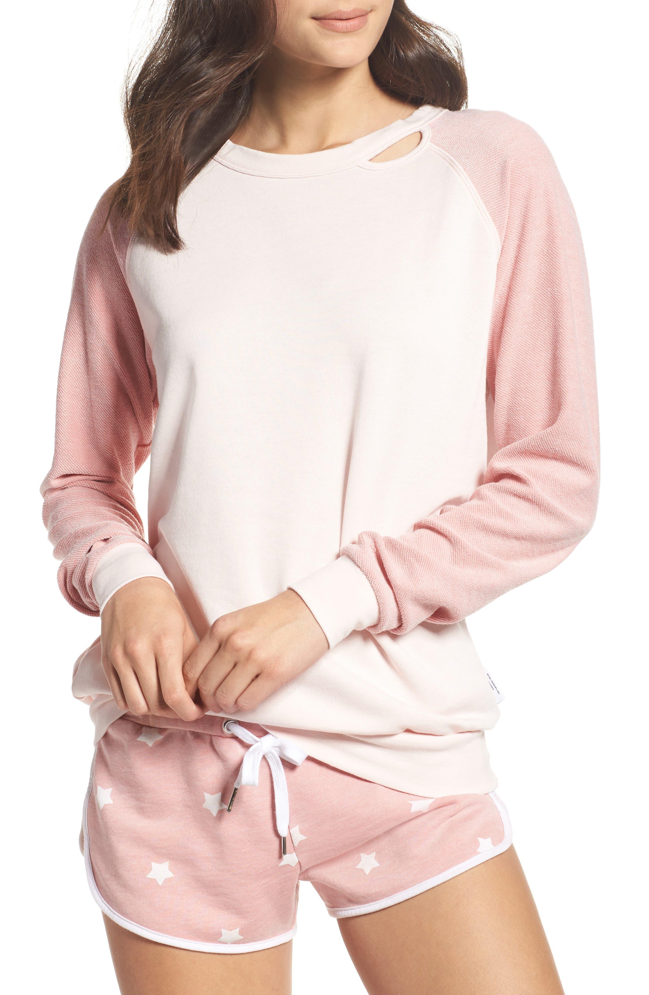 Bander Sweatshirt,                         Main,                         color, Champagne / Shell