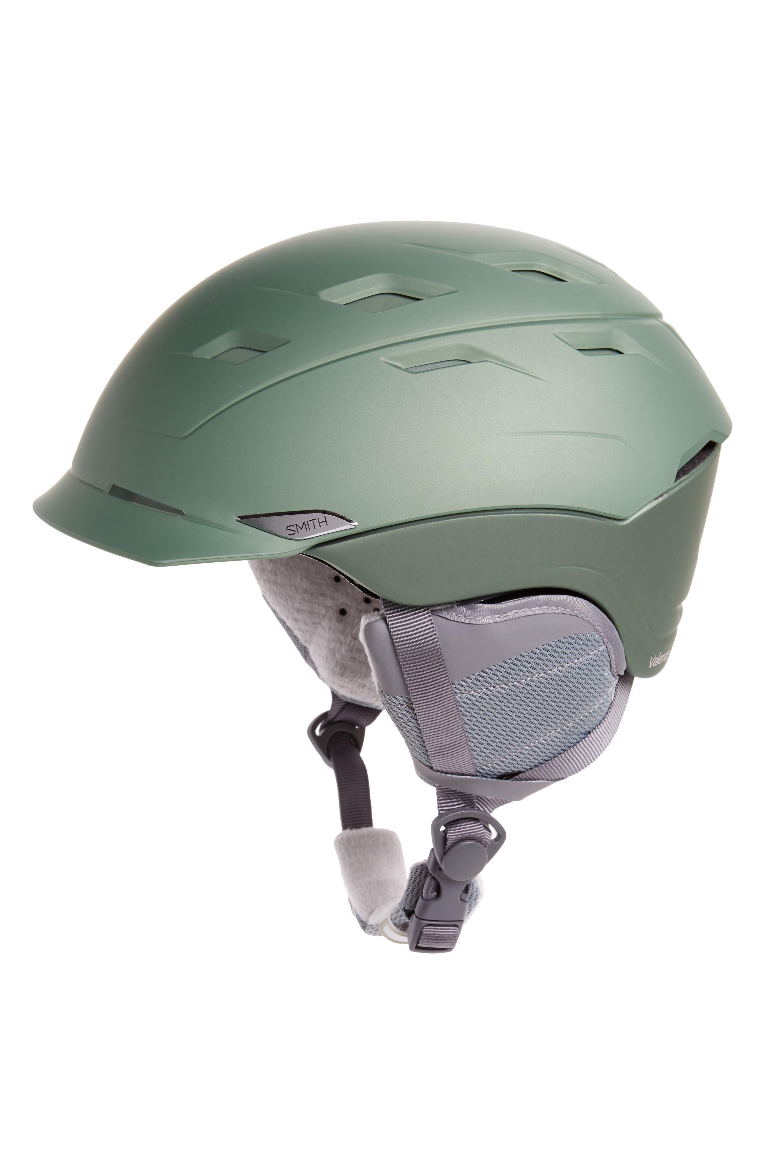 'Valence' Snow Helmet,                         Main,                         color, Matte Patina