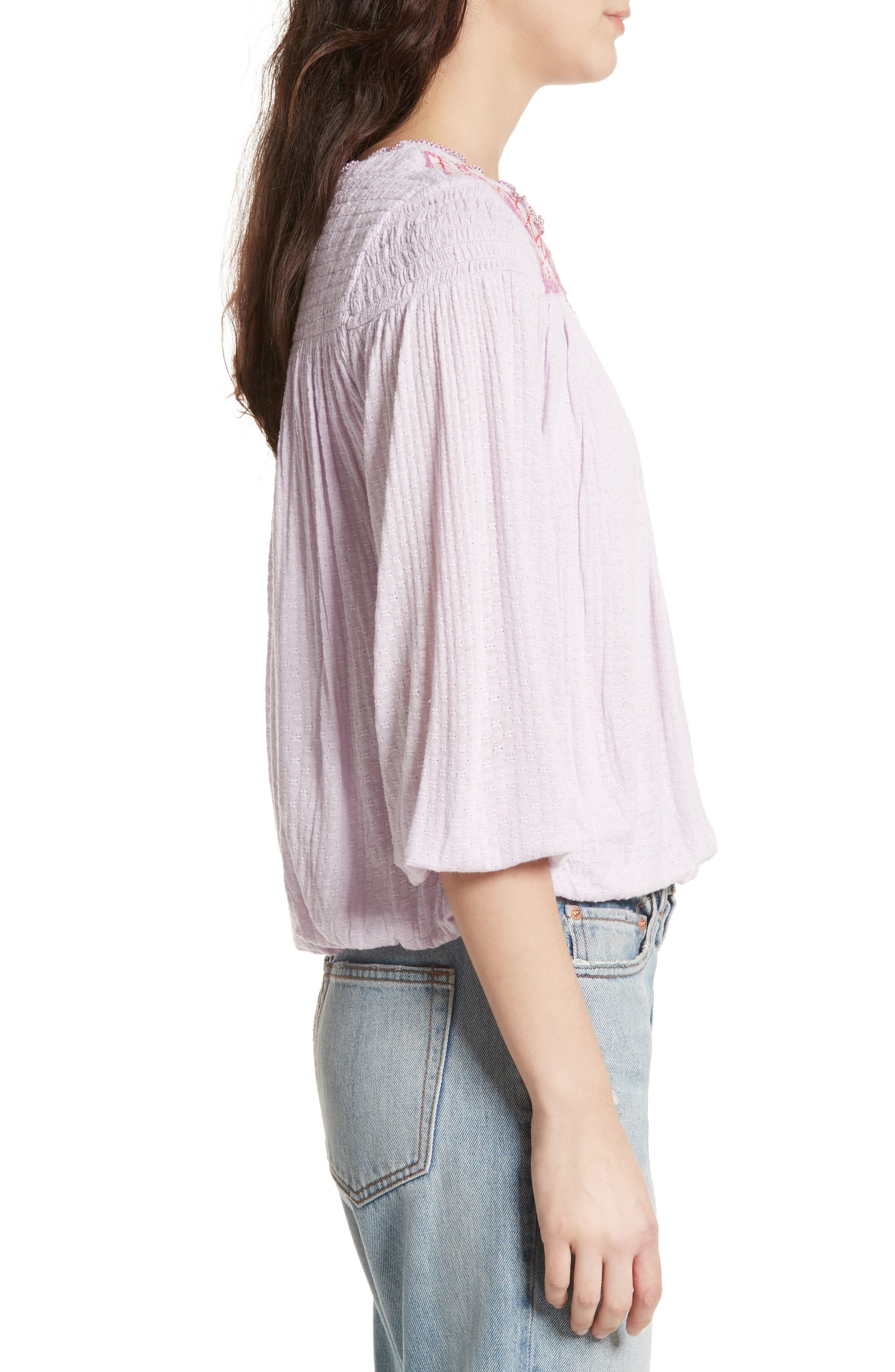 Alternate Image 3  - Free People Begonia Top