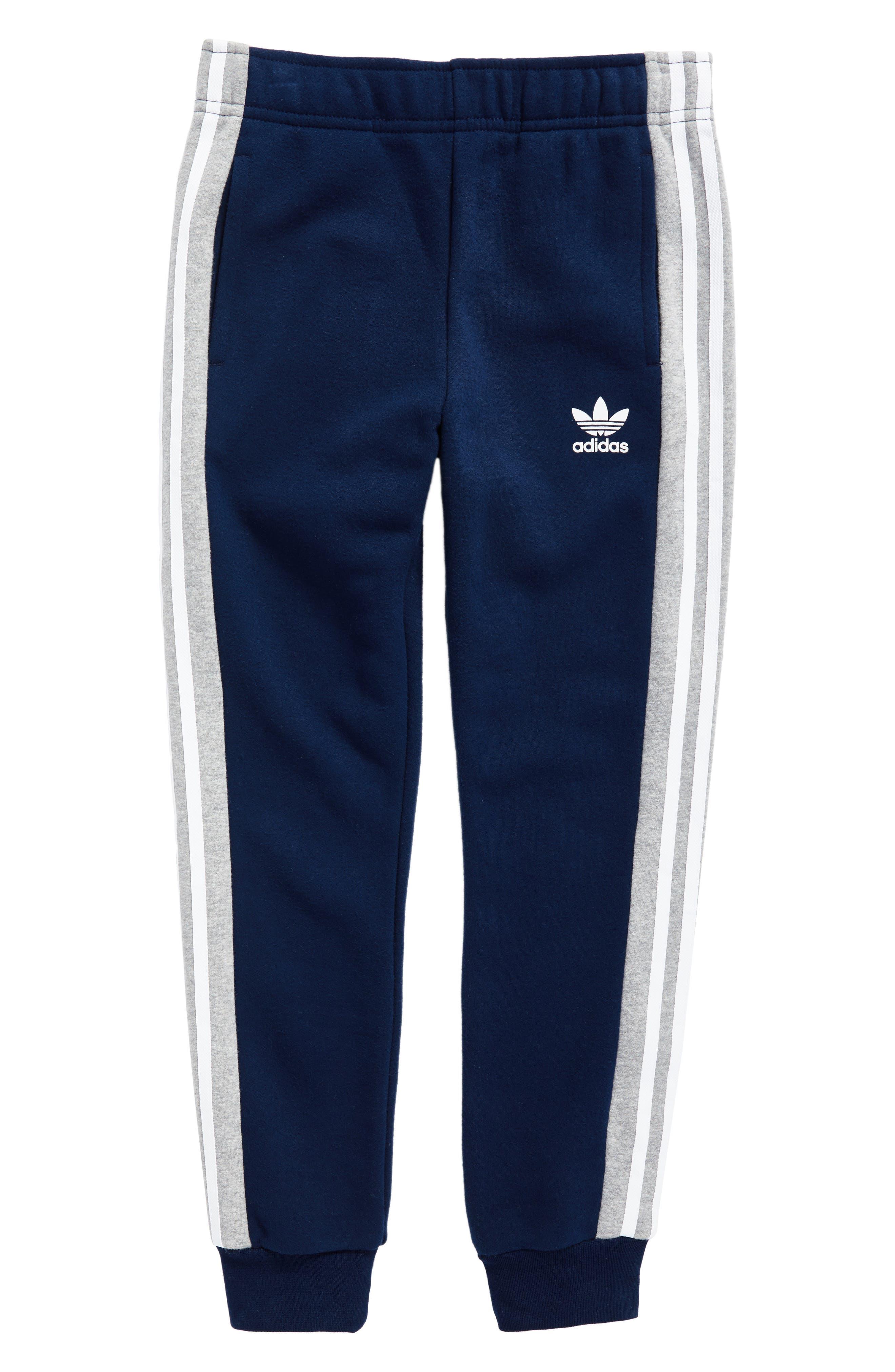 adidas FL Jogger Pants,                             Main thumbnail 1, color,                             Collegiate Navy/ Medium Grey