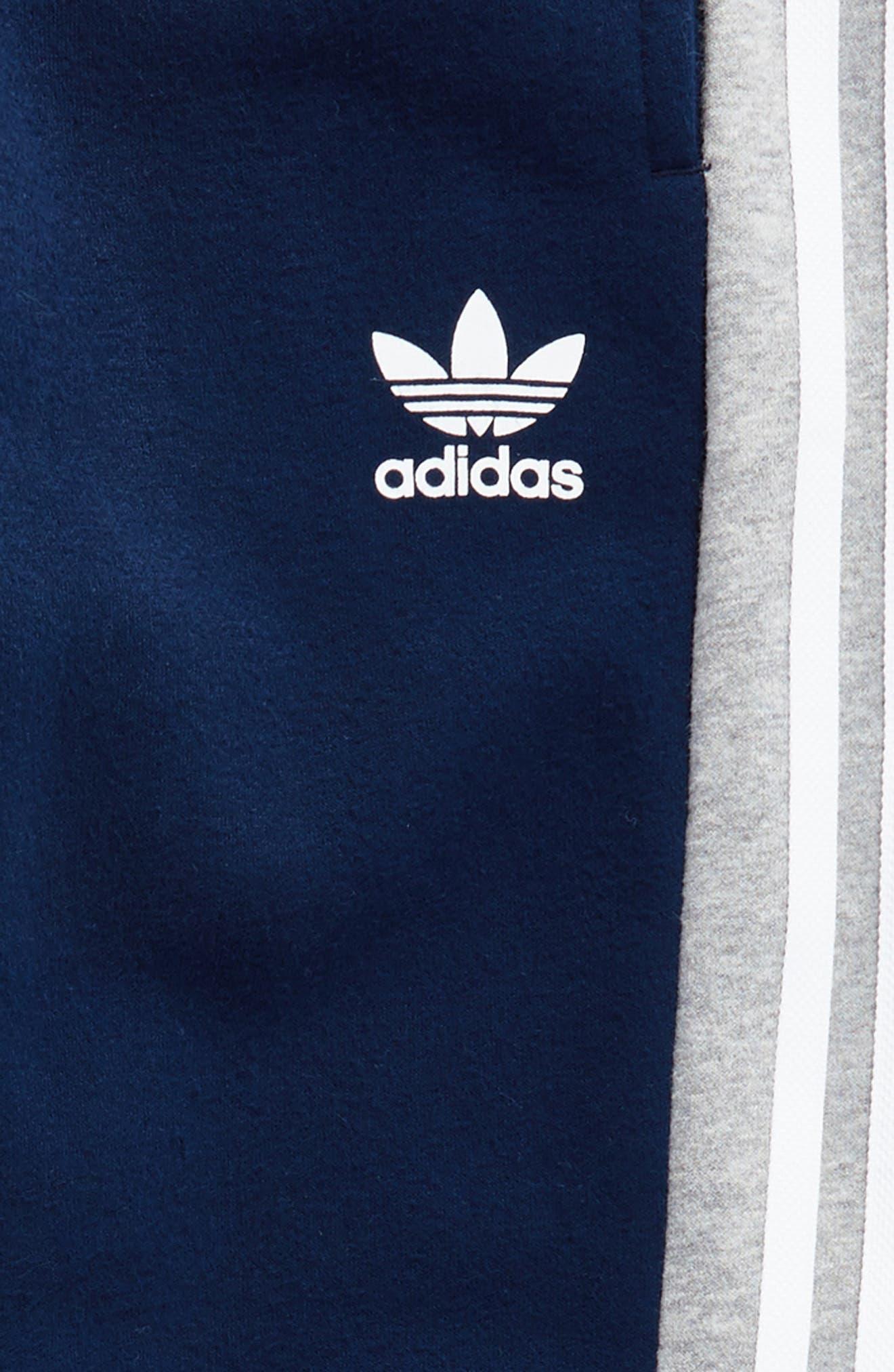 adidas FL Jogger Pants,                             Alternate thumbnail 3, color,                             Collegiate Navy/ Medium Grey