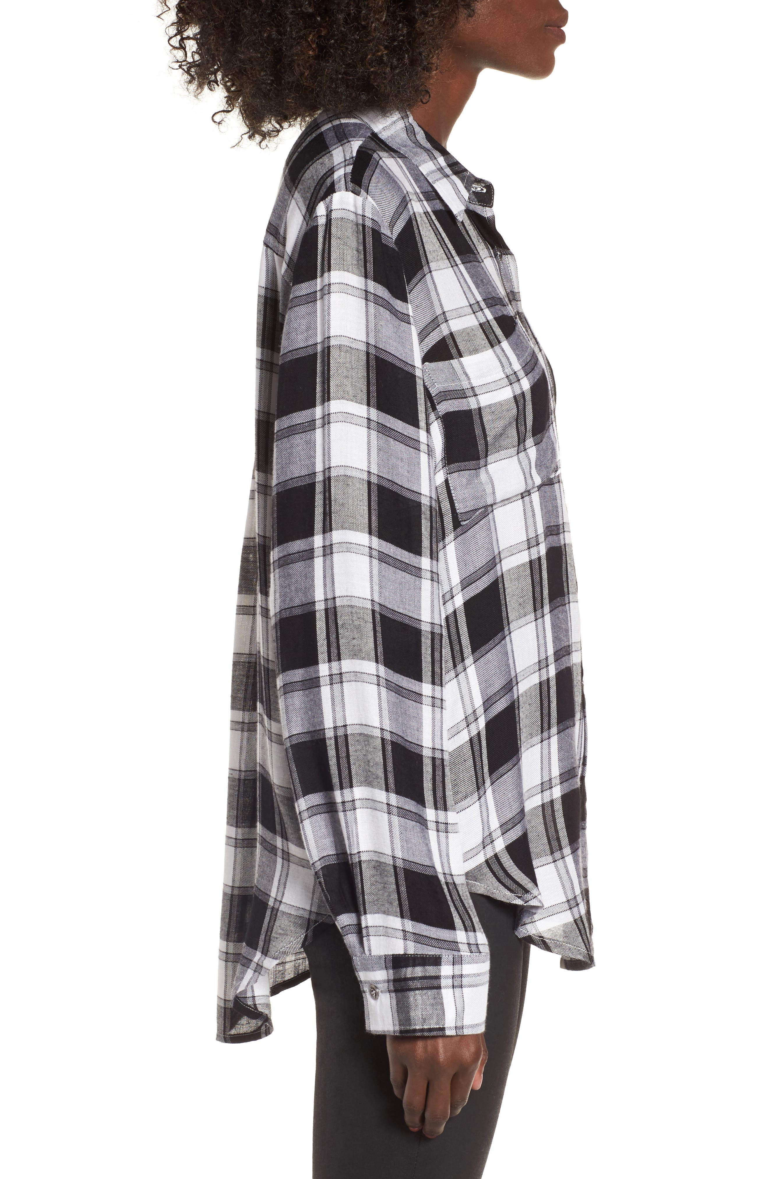 Alternate Image 4  - Lira Clothing Anarchy Plaid Shirt