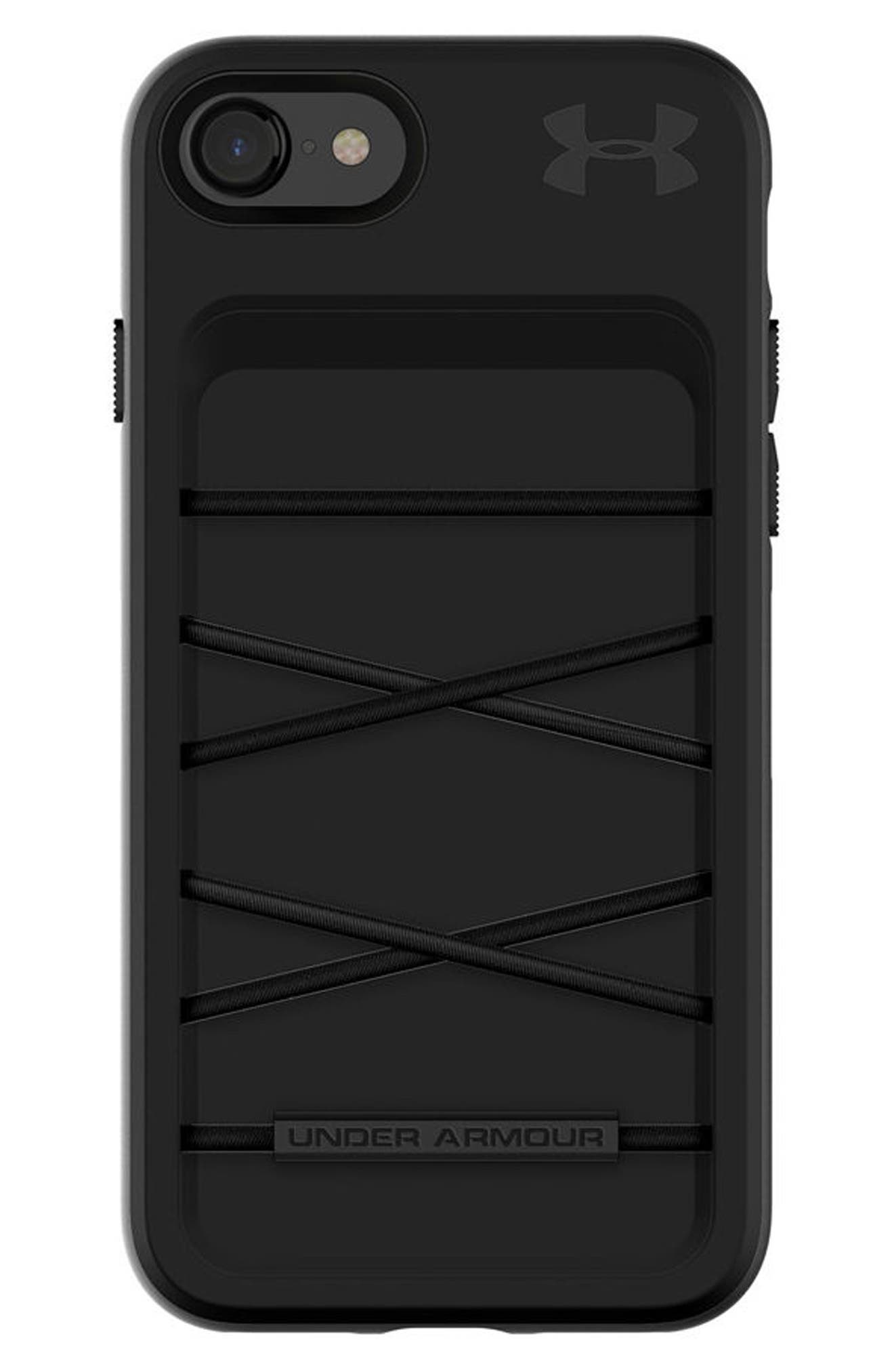 Protect Arsenal iPhone 7/8 Case,                             Main thumbnail 1, color,                             Black/ Black