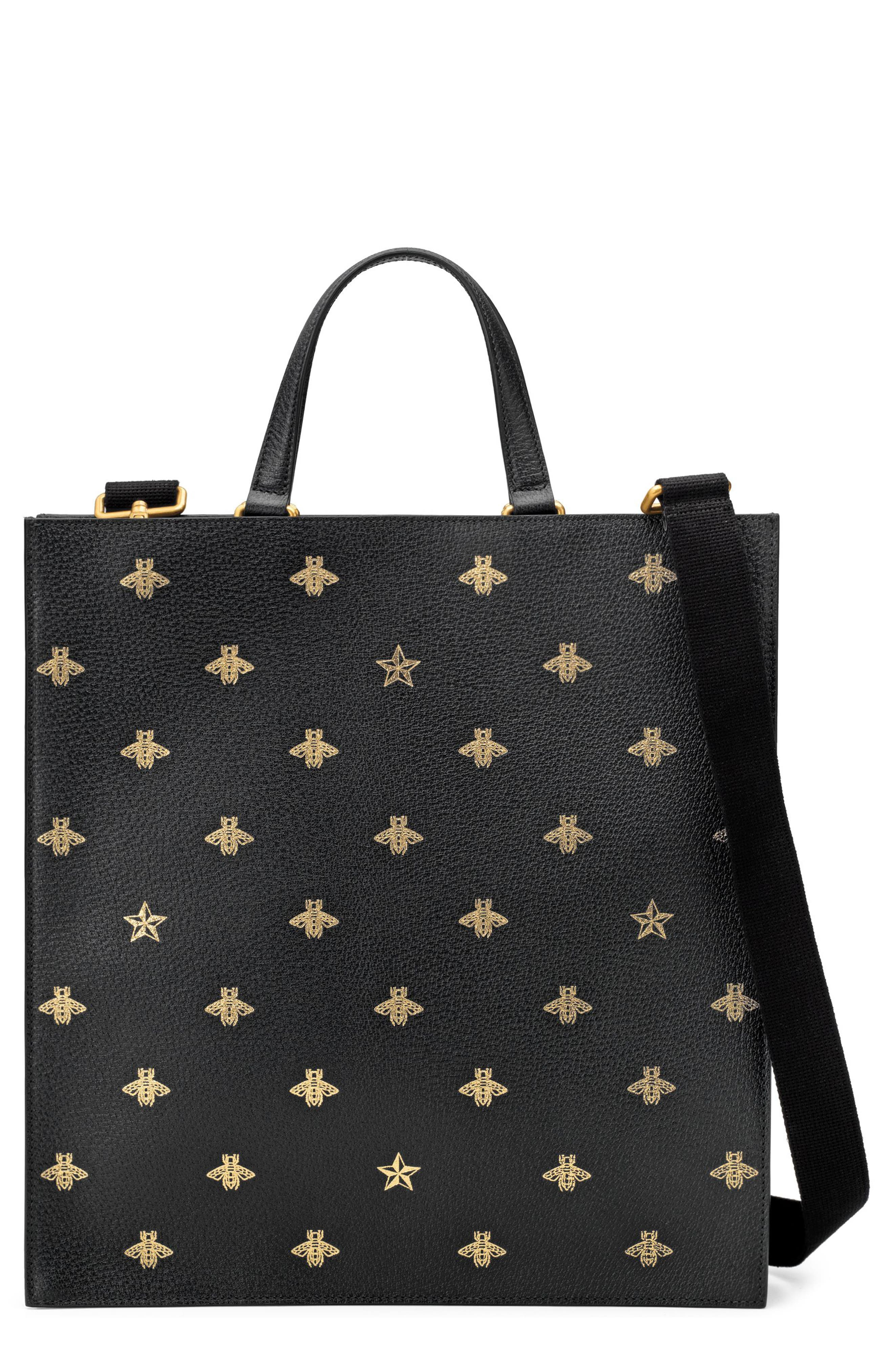 Alternate Image 1 Selected - Gucci GG Supreme Leather Tote