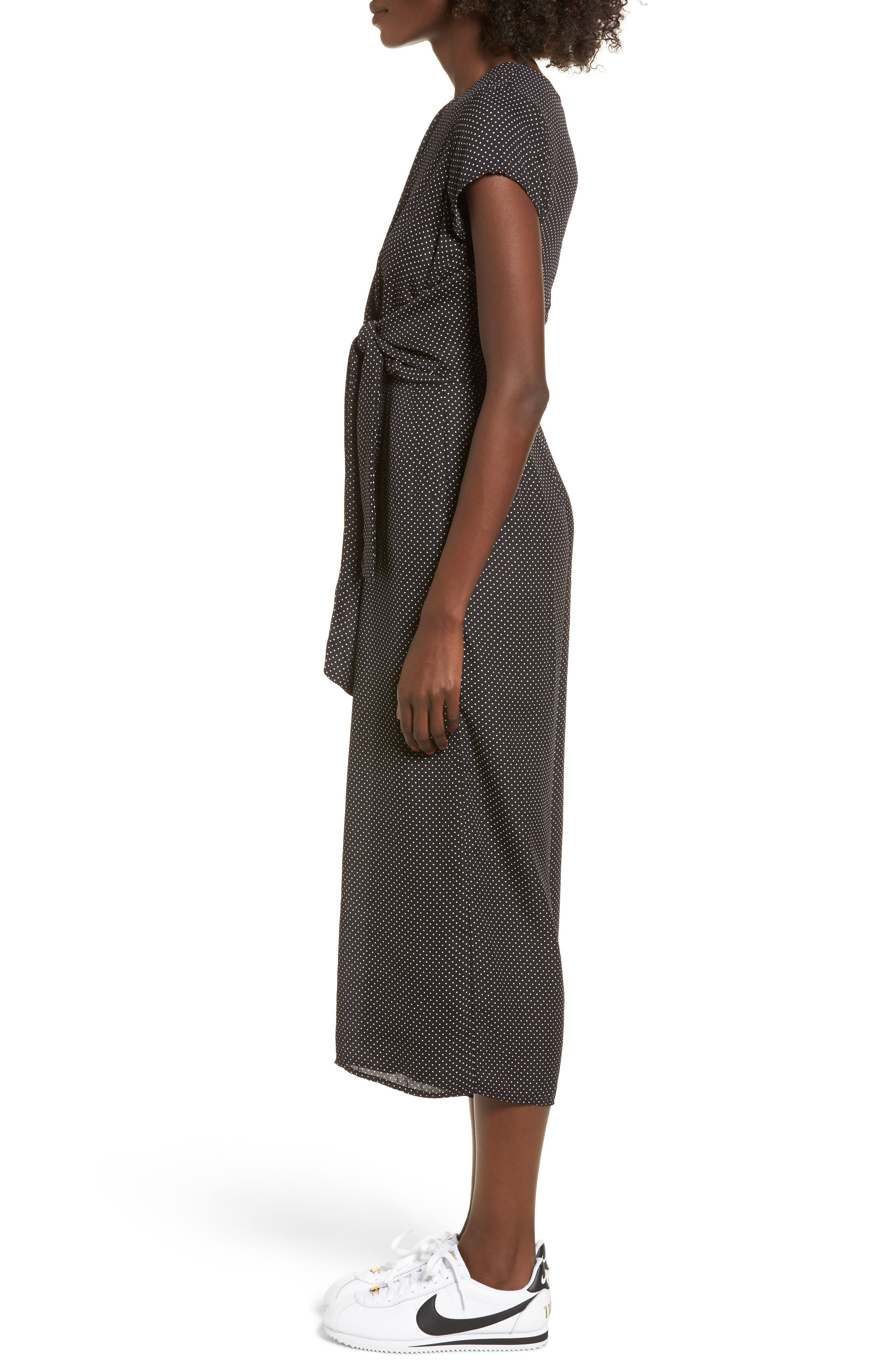Alternate Image 3  - Dee Elly Knotted Wide Leg Jumpsuit