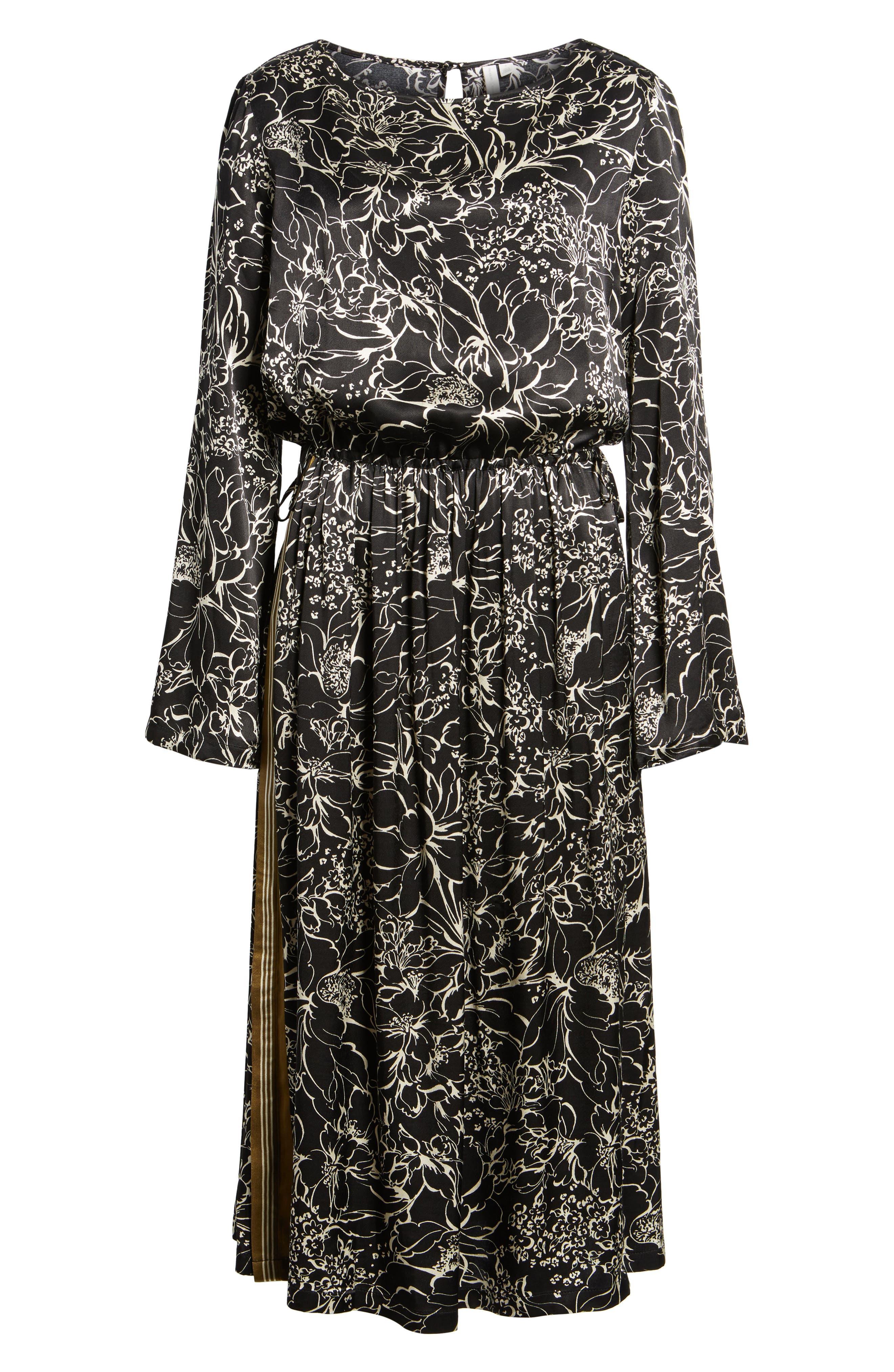 Alternate Image 6  - Treasure & Bond Blouson Print Dress