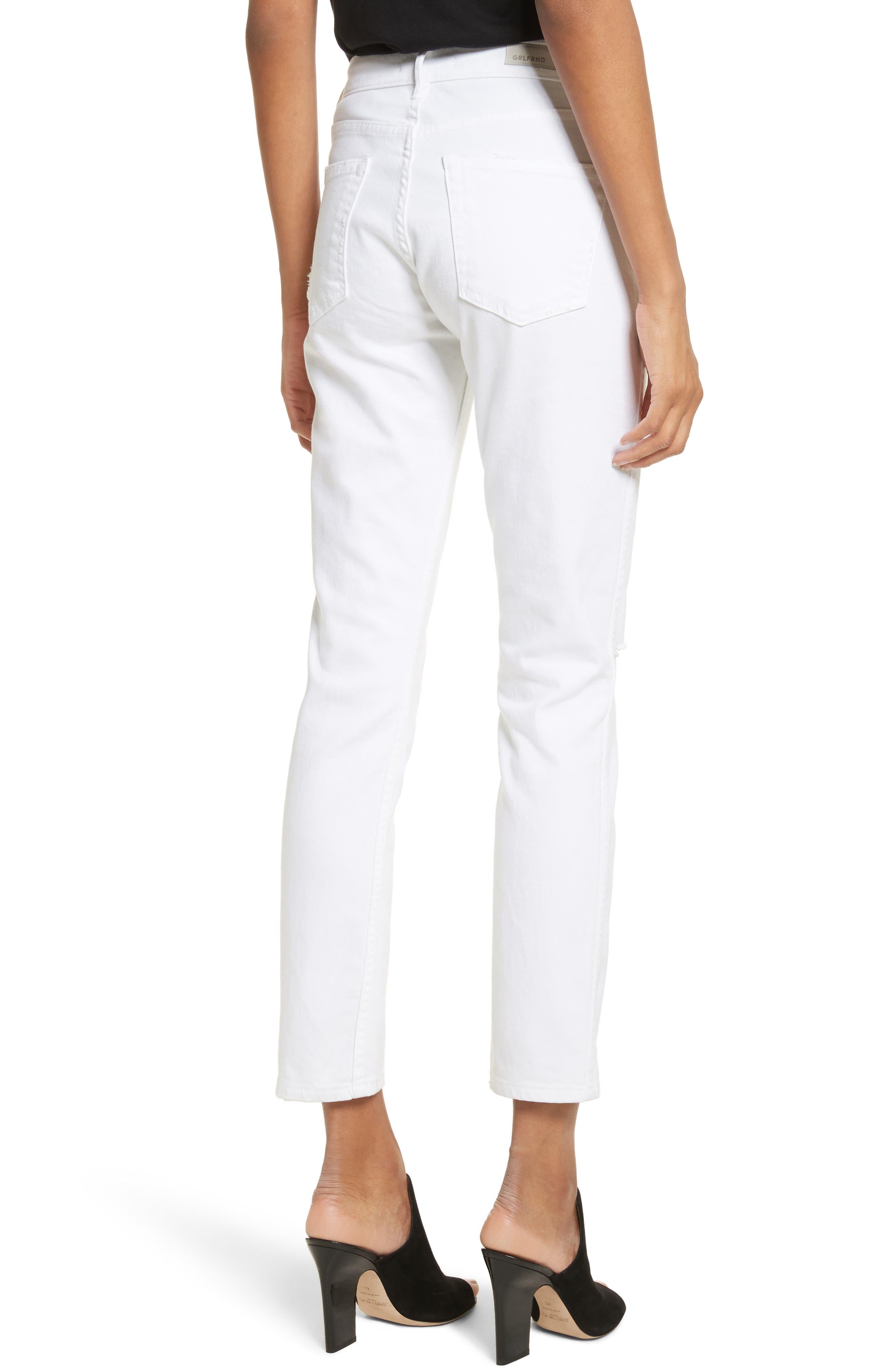 Naomi High Waist Skinny Jeans,                             Alternate thumbnail 2, color,                             Florence G587