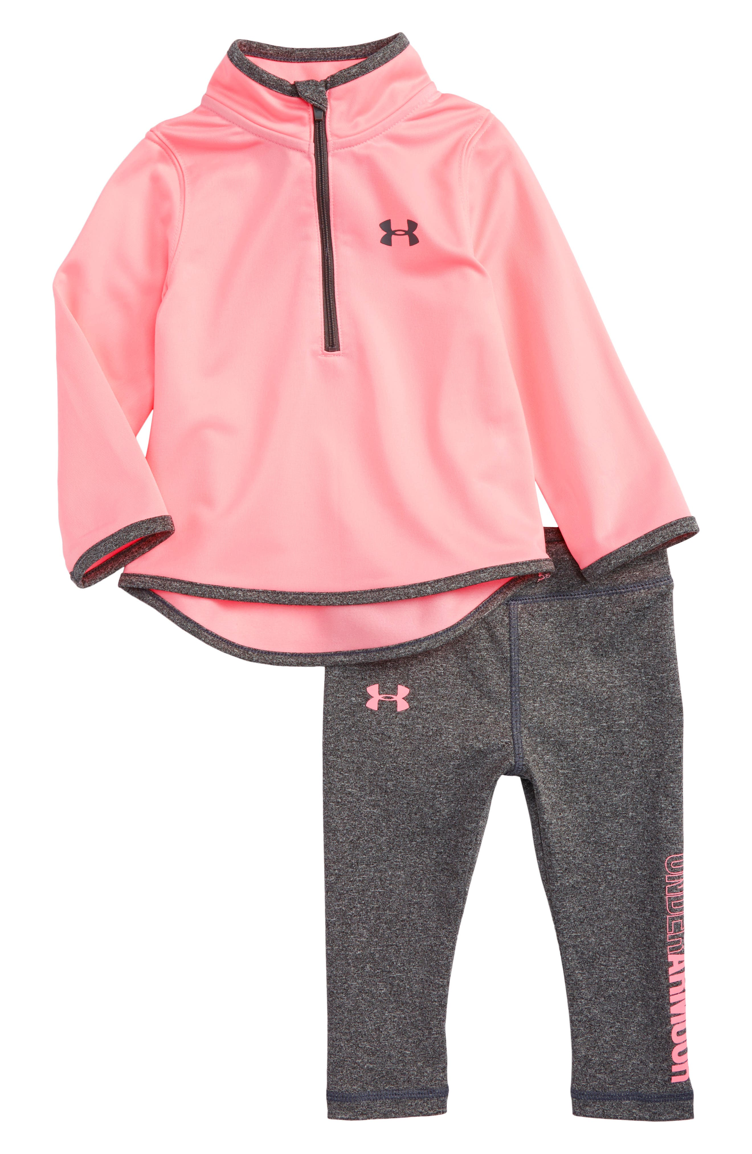Under Armour Teamster Half-Zip Track Jacket & Leggings Set (Baby Girls)