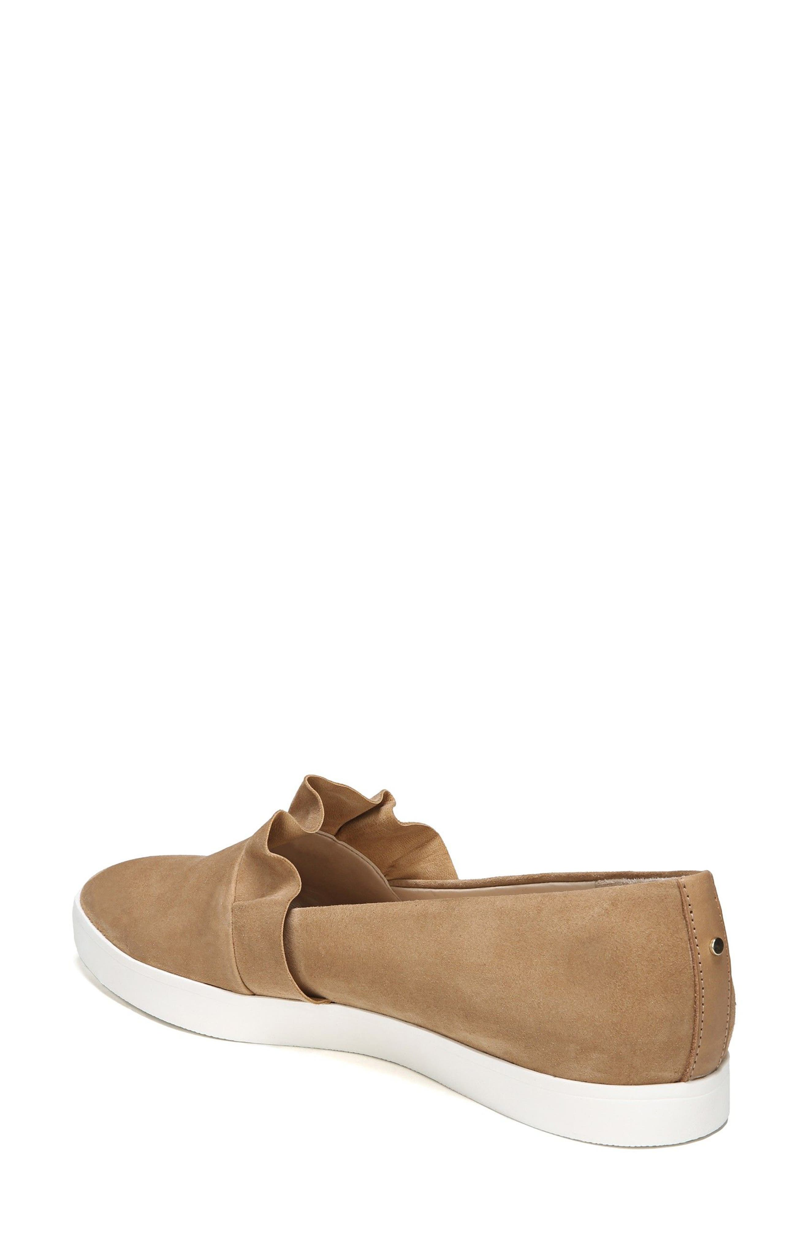 Vienna Slip-On Sneaker,                             Alternate thumbnail 2, color,                             Nude Suede