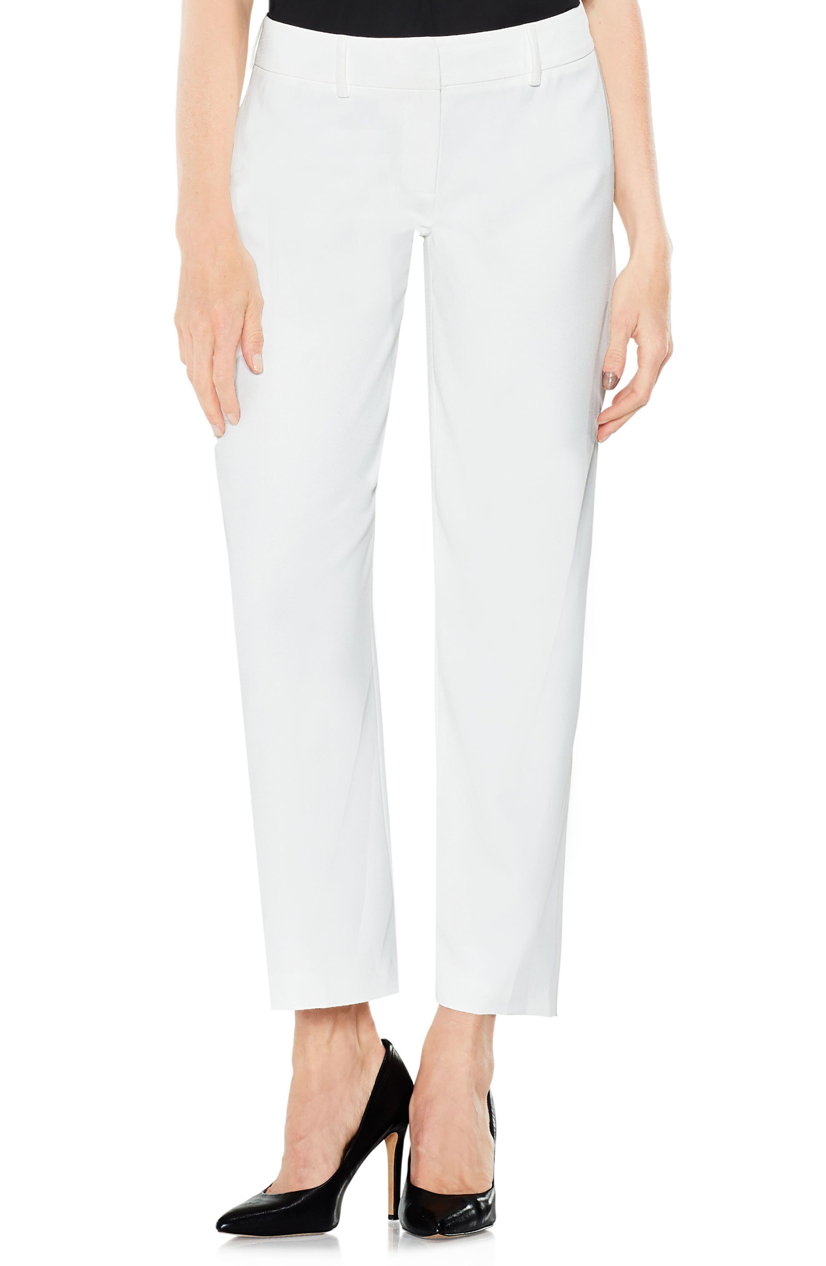 Straight Leg Pants,                         Main,                         color, New Ivory