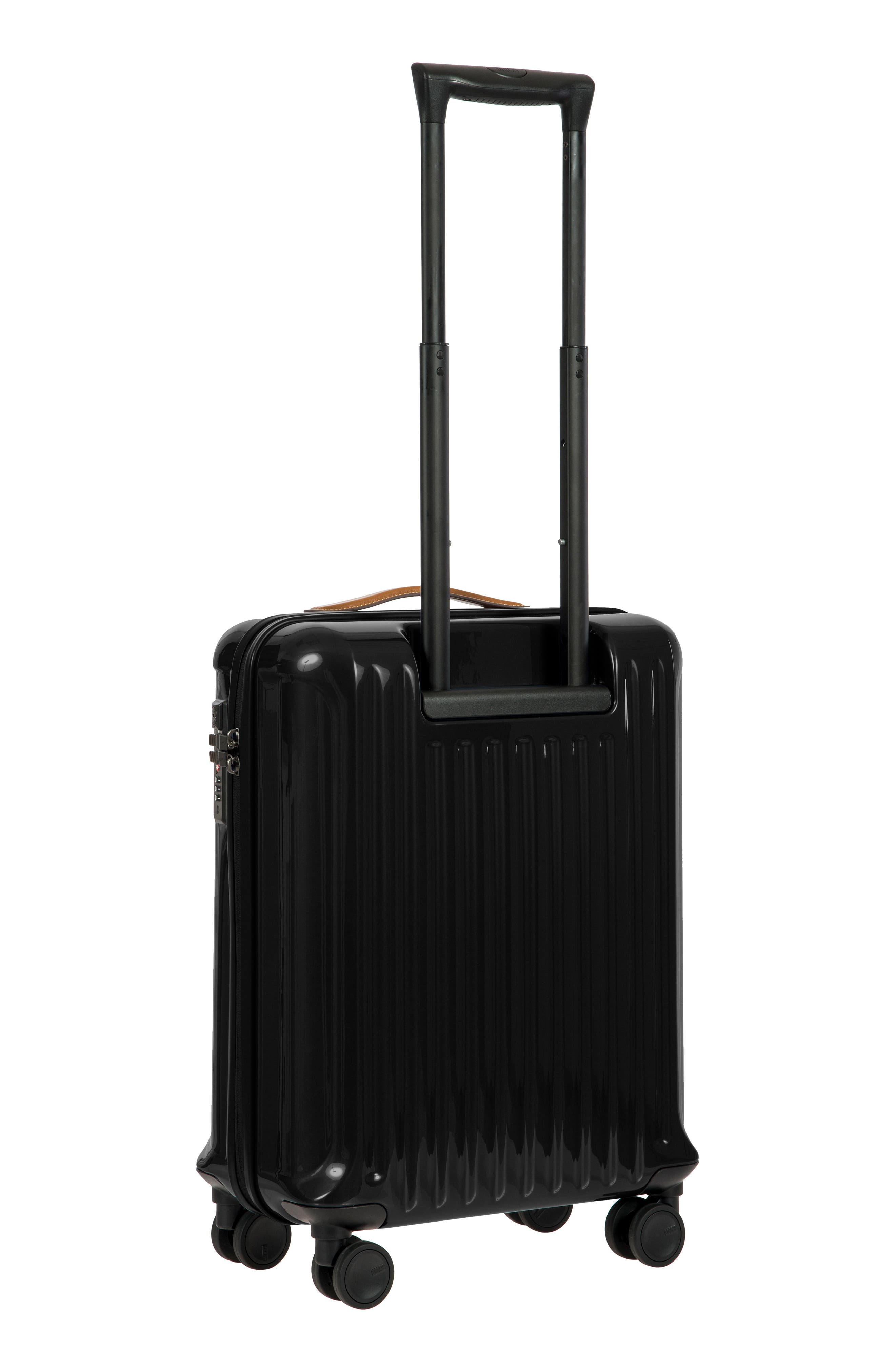 Capri 21-Inch Spinner Carry-On,                             Alternate thumbnail 8, color,                             Black