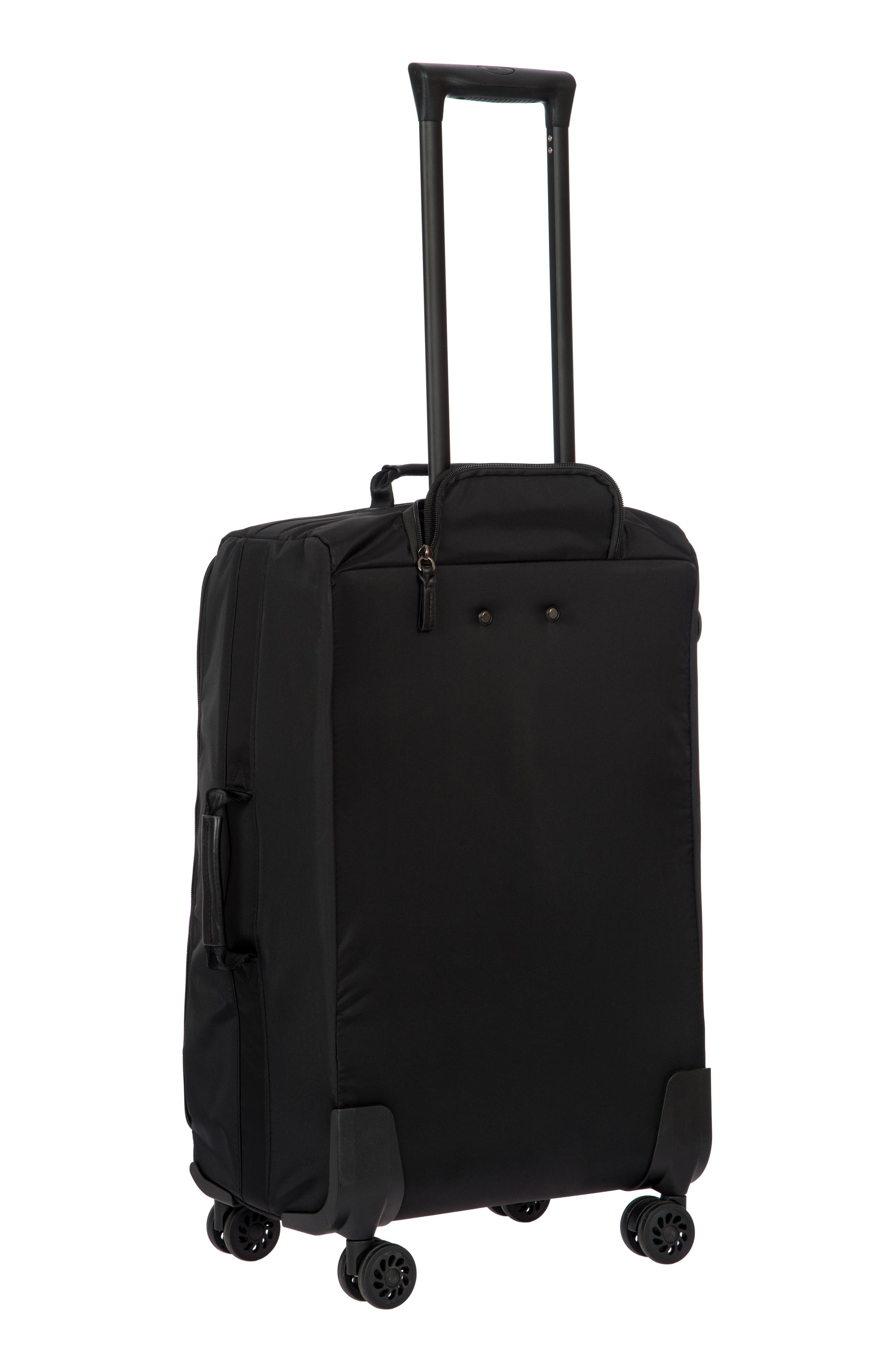 X-Bag 25-Inch Spinner Suitcase,                             Alternate thumbnail 6, color,                             Black/ Black