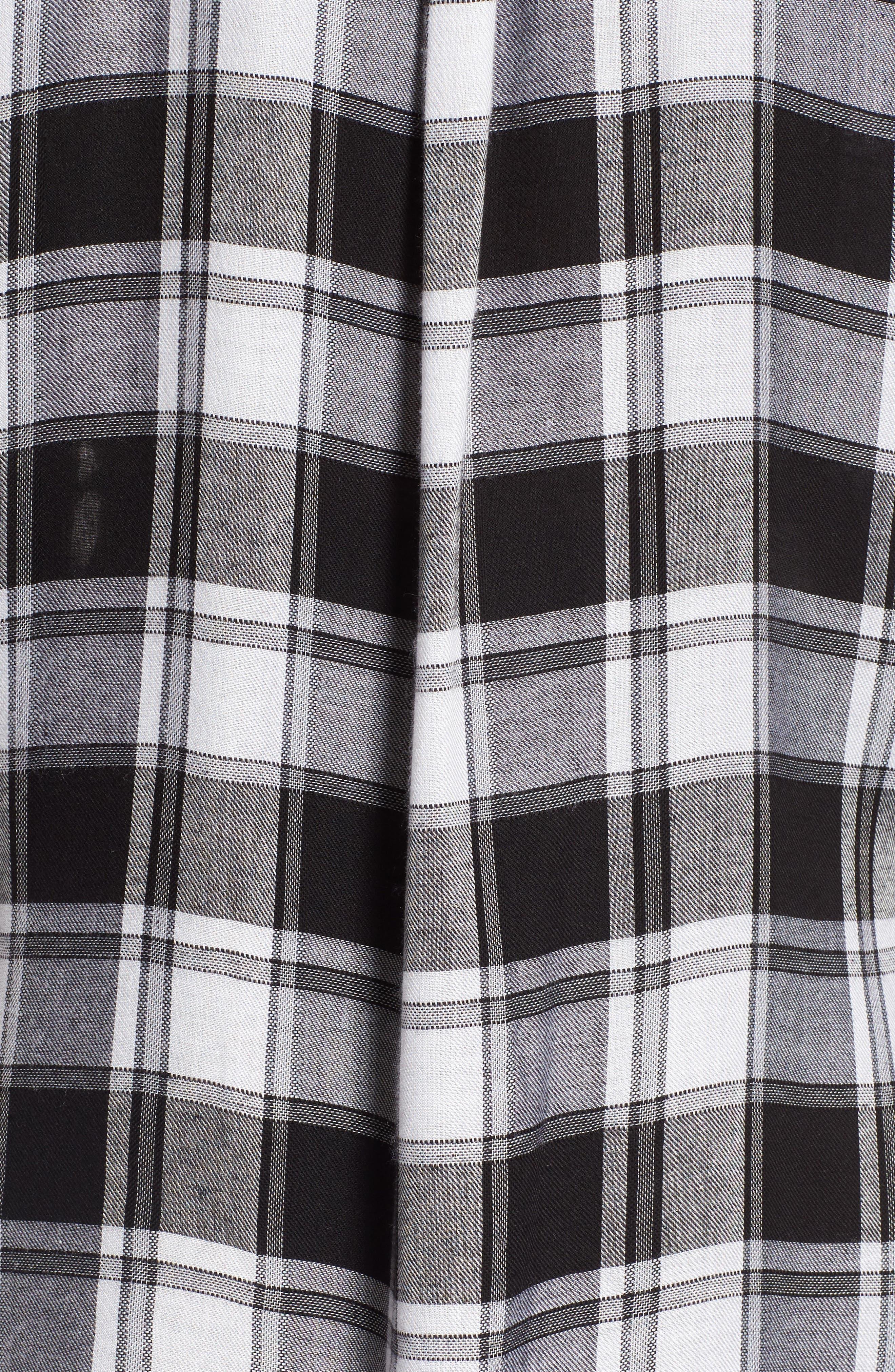 Alternate Image 6  - Lira Clothing Anarchy Plaid Shirt