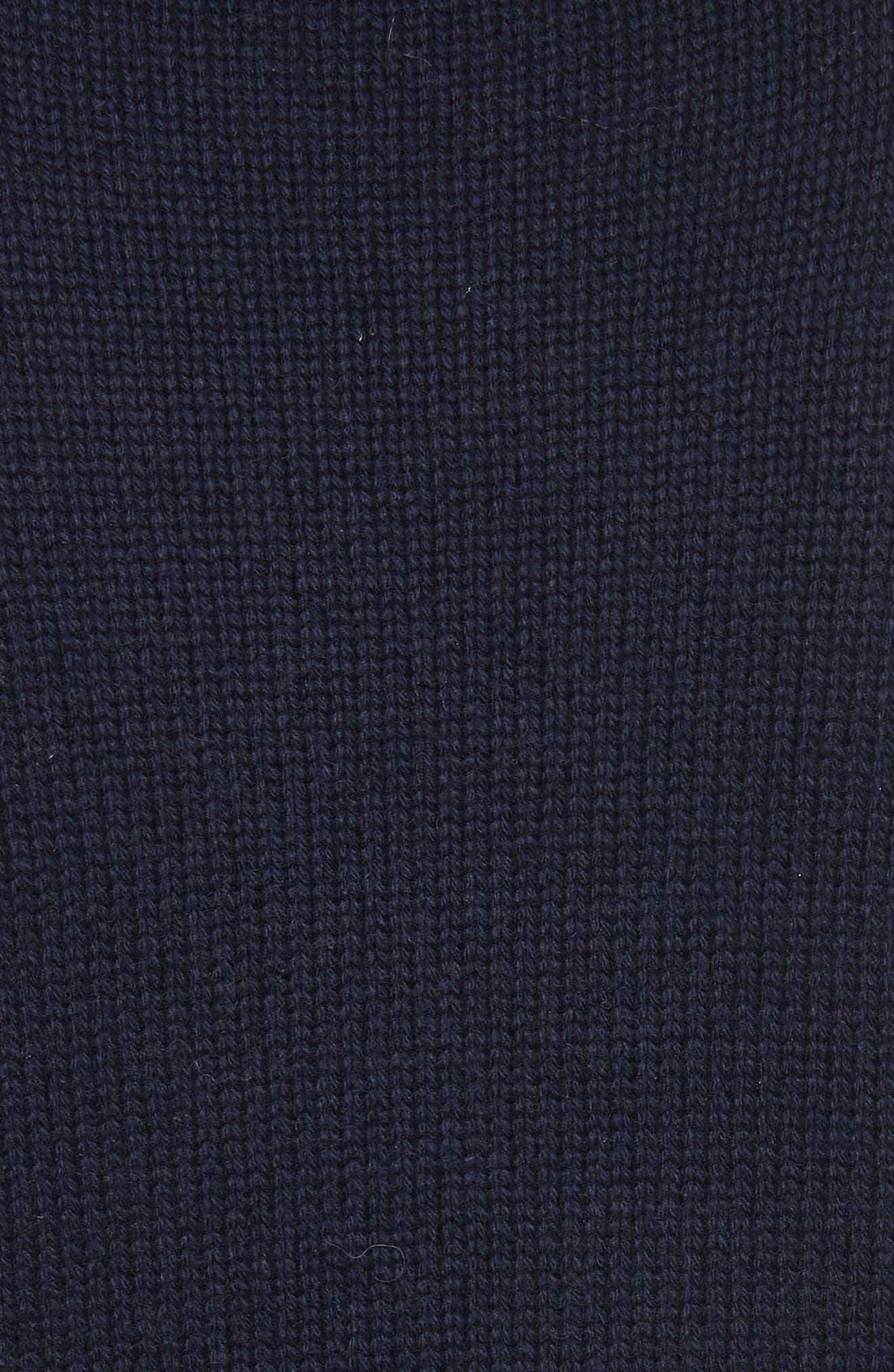Lathen Mock Neck Sweater,                             Alternate thumbnail 5, color,                             Midnight