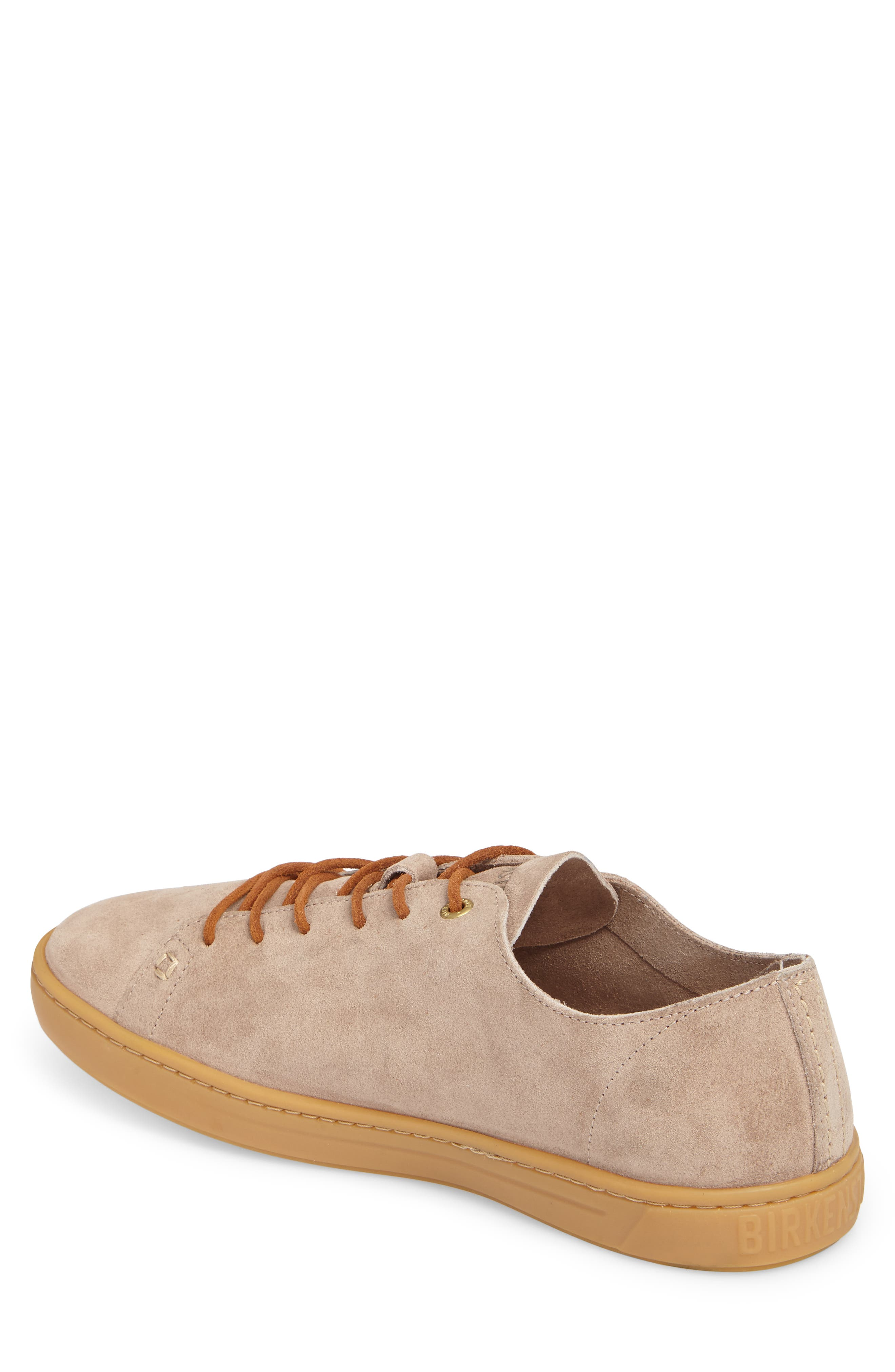 Arran Sneaker,                             Alternate thumbnail 2, color,                             Taupe Suede