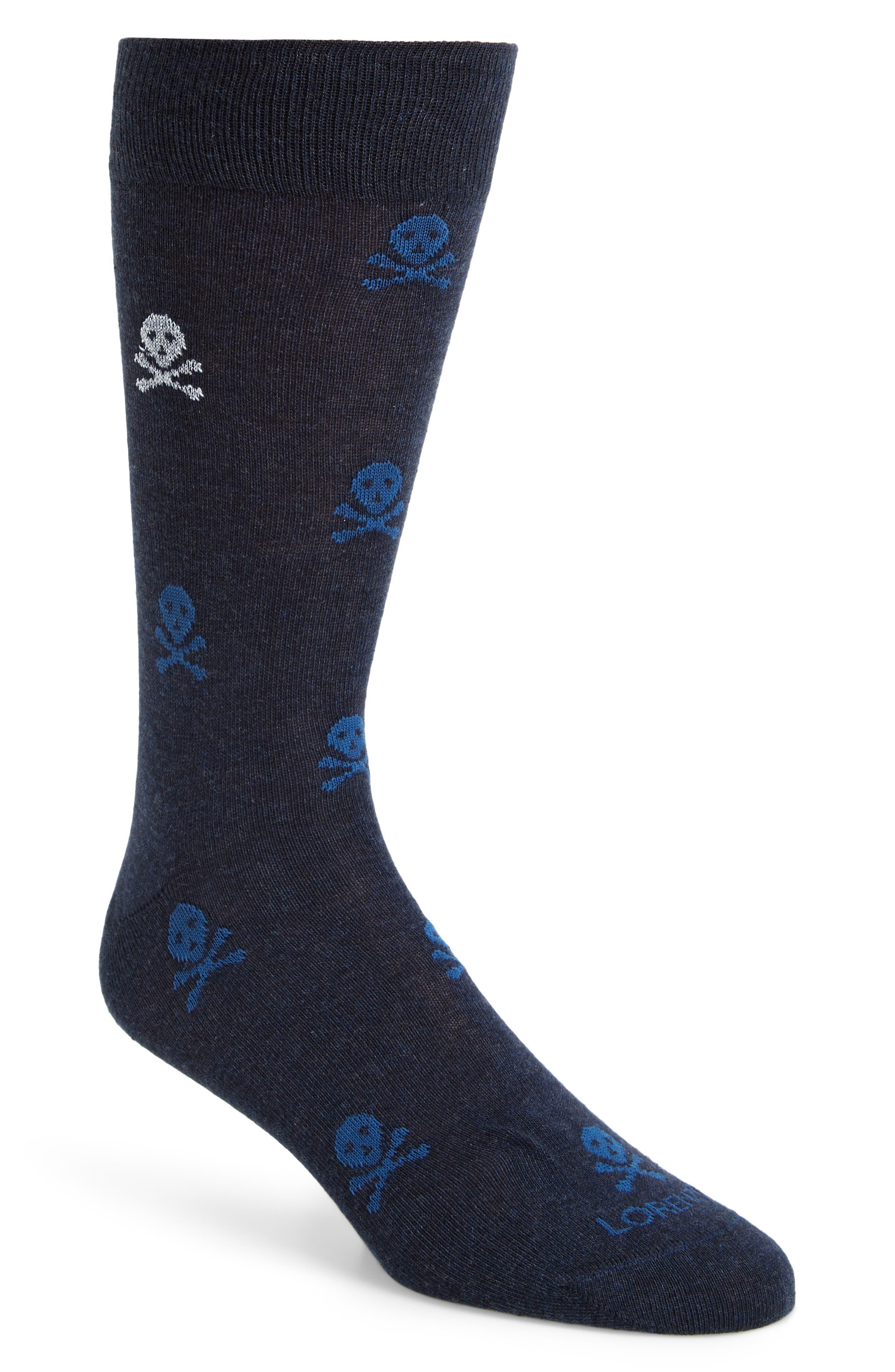 Lorenzo Uomo Skulls Socks