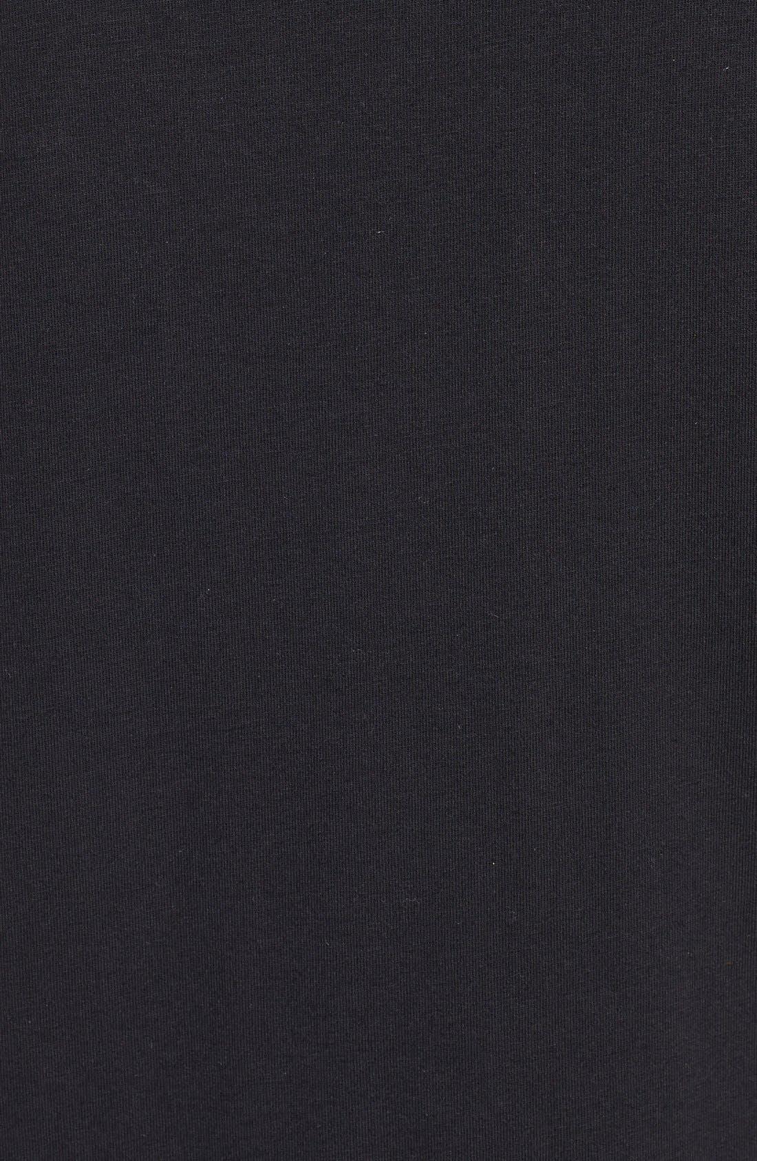 Alternate Image 3  - DKNY Jersey Capri Pajamas