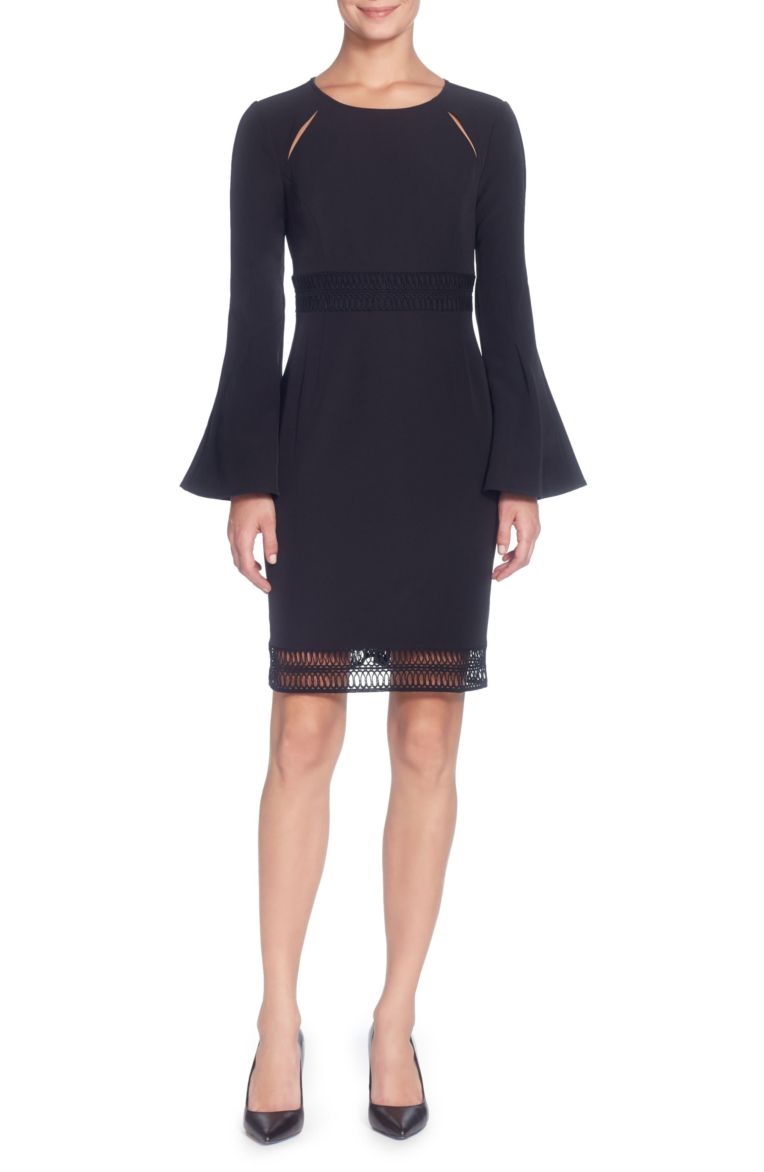 Ursa Dress,                         Main,                         color, Black