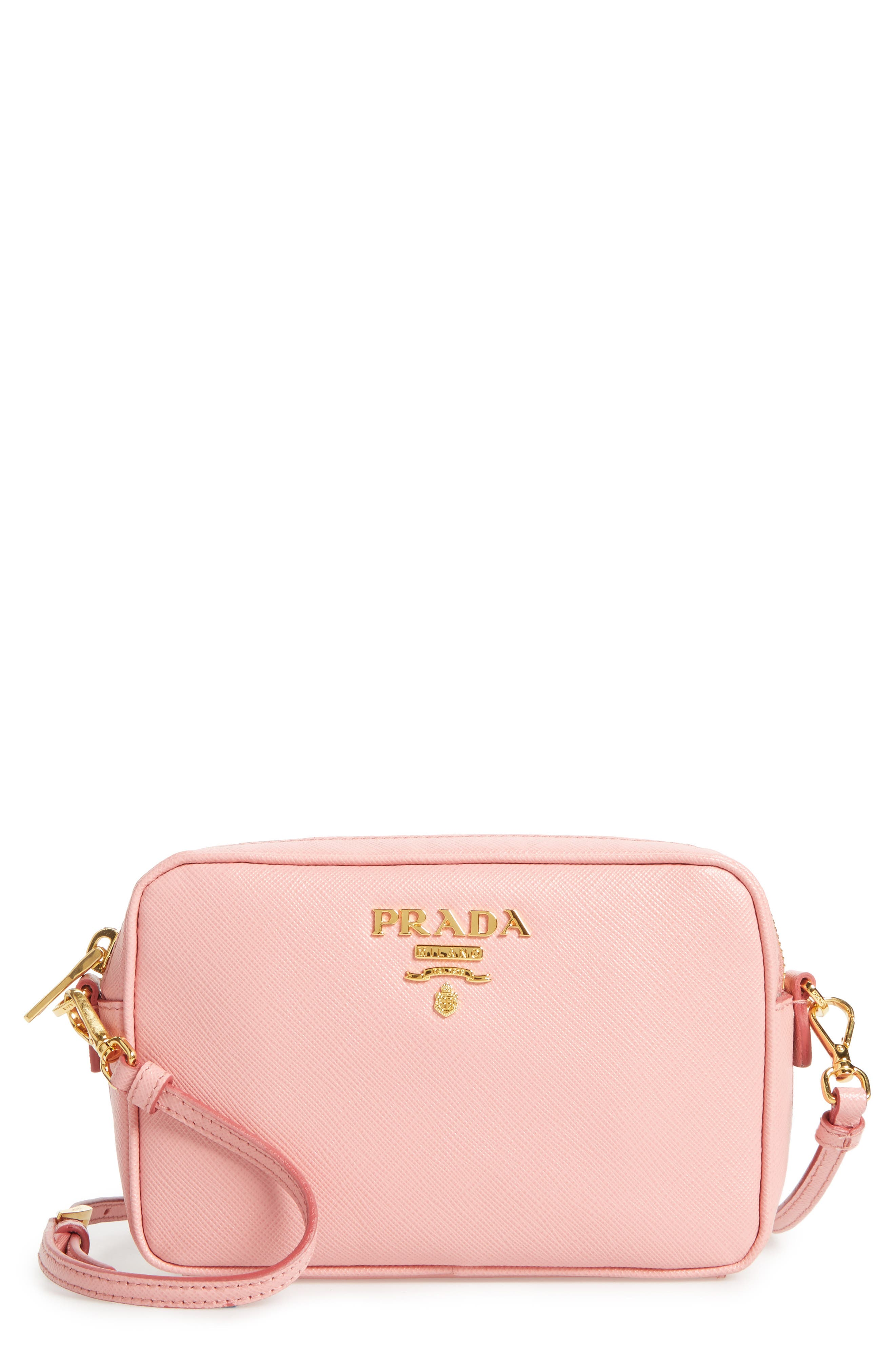 Prada Small Saffiano Leather Camera Bag
