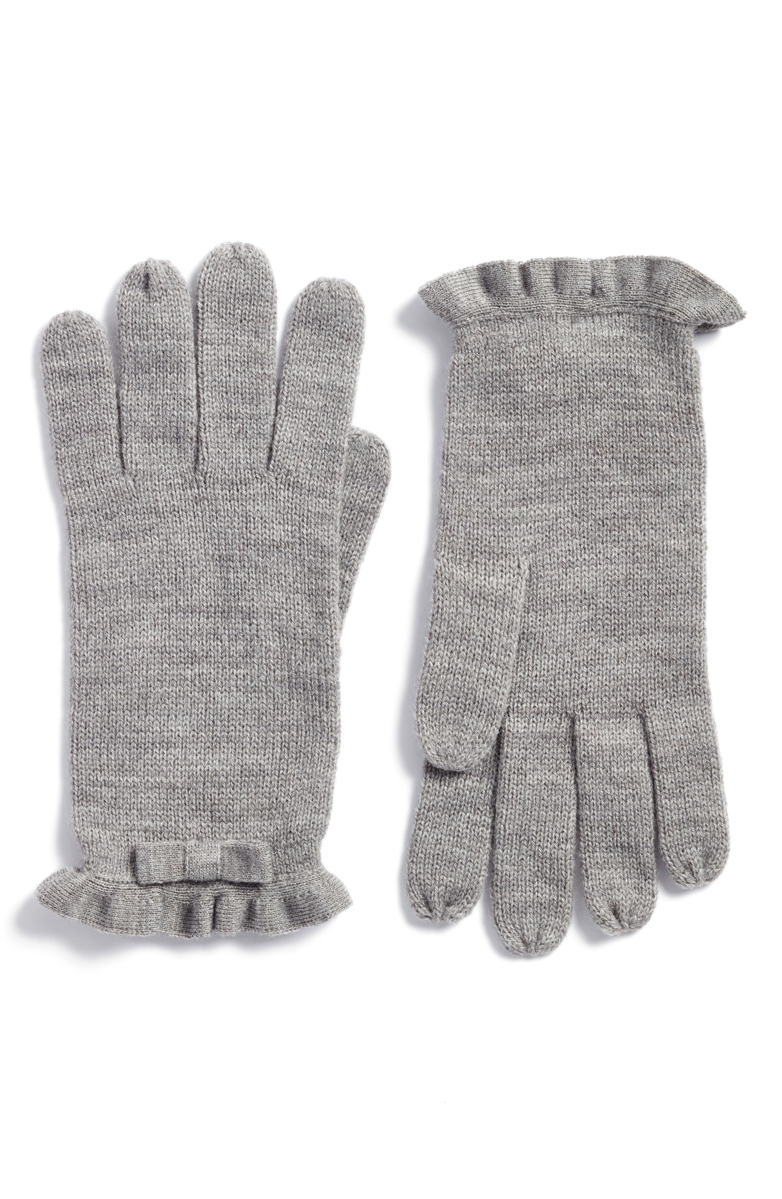 kate spade new york ruffle gloves
