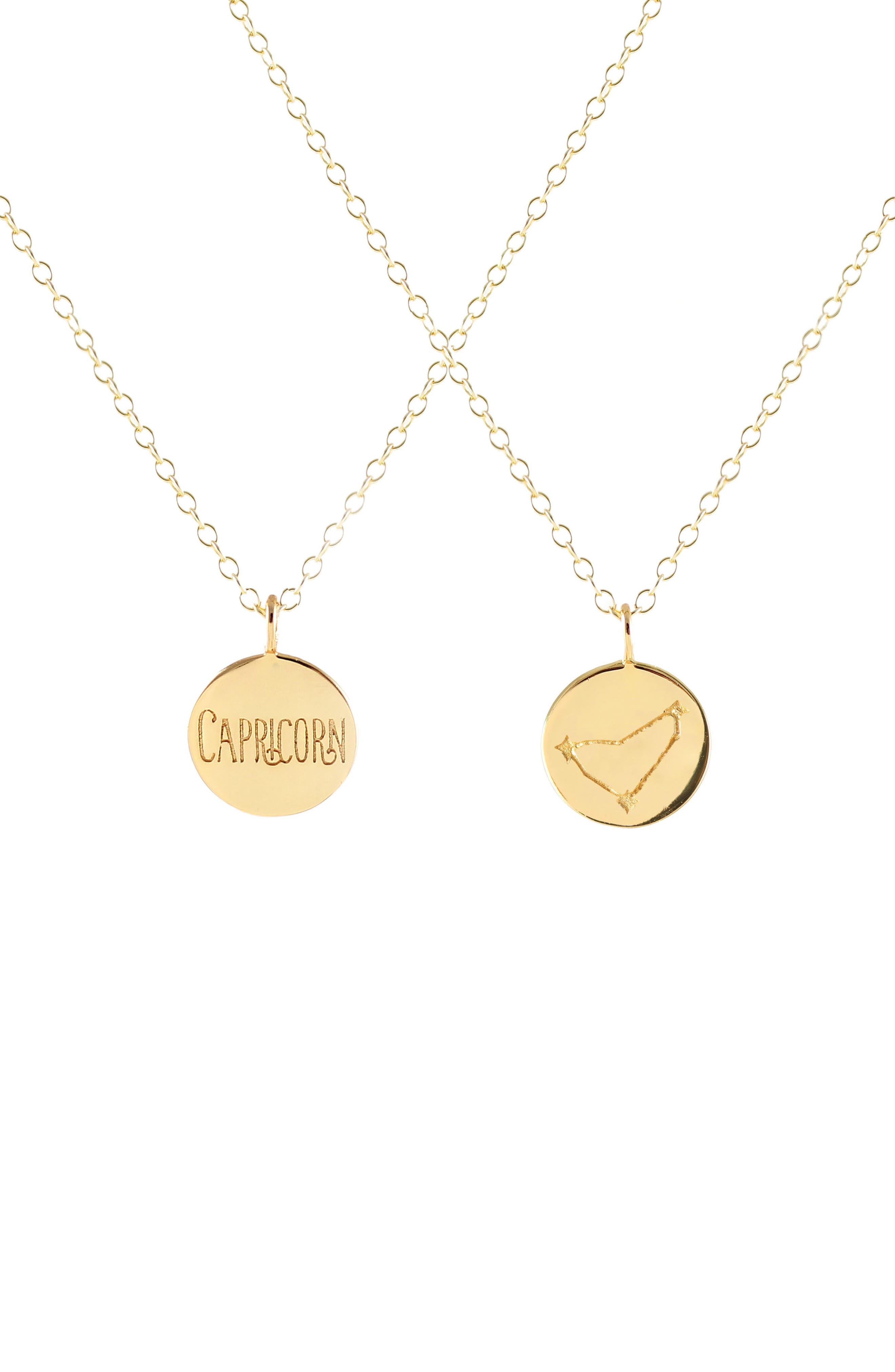 Kris Nations Zodiac Charm Necklace
