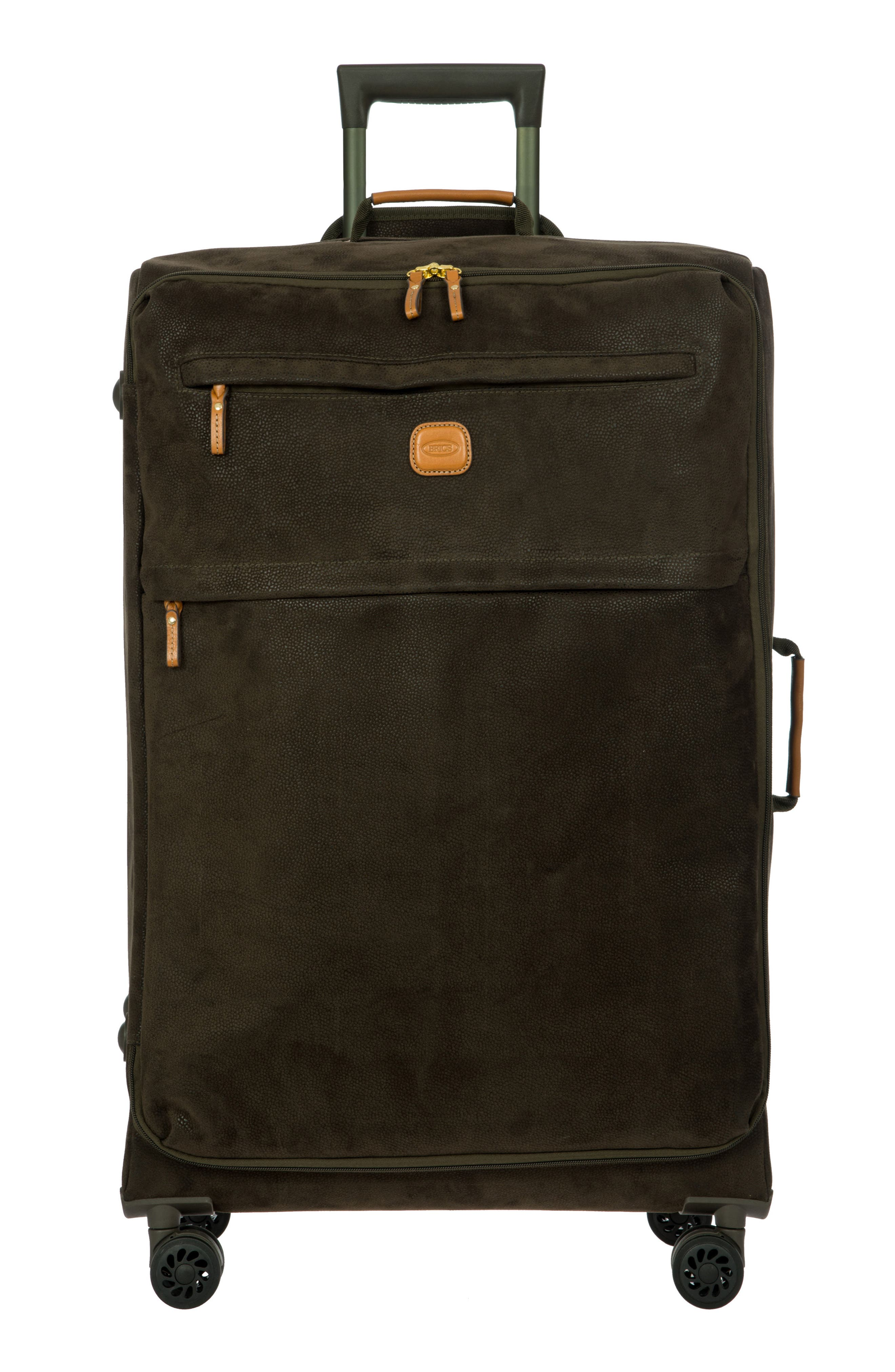 LIFE Collection 30-Inch Wheeled Suitcase,                             Main thumbnail 1, color,                             Olive