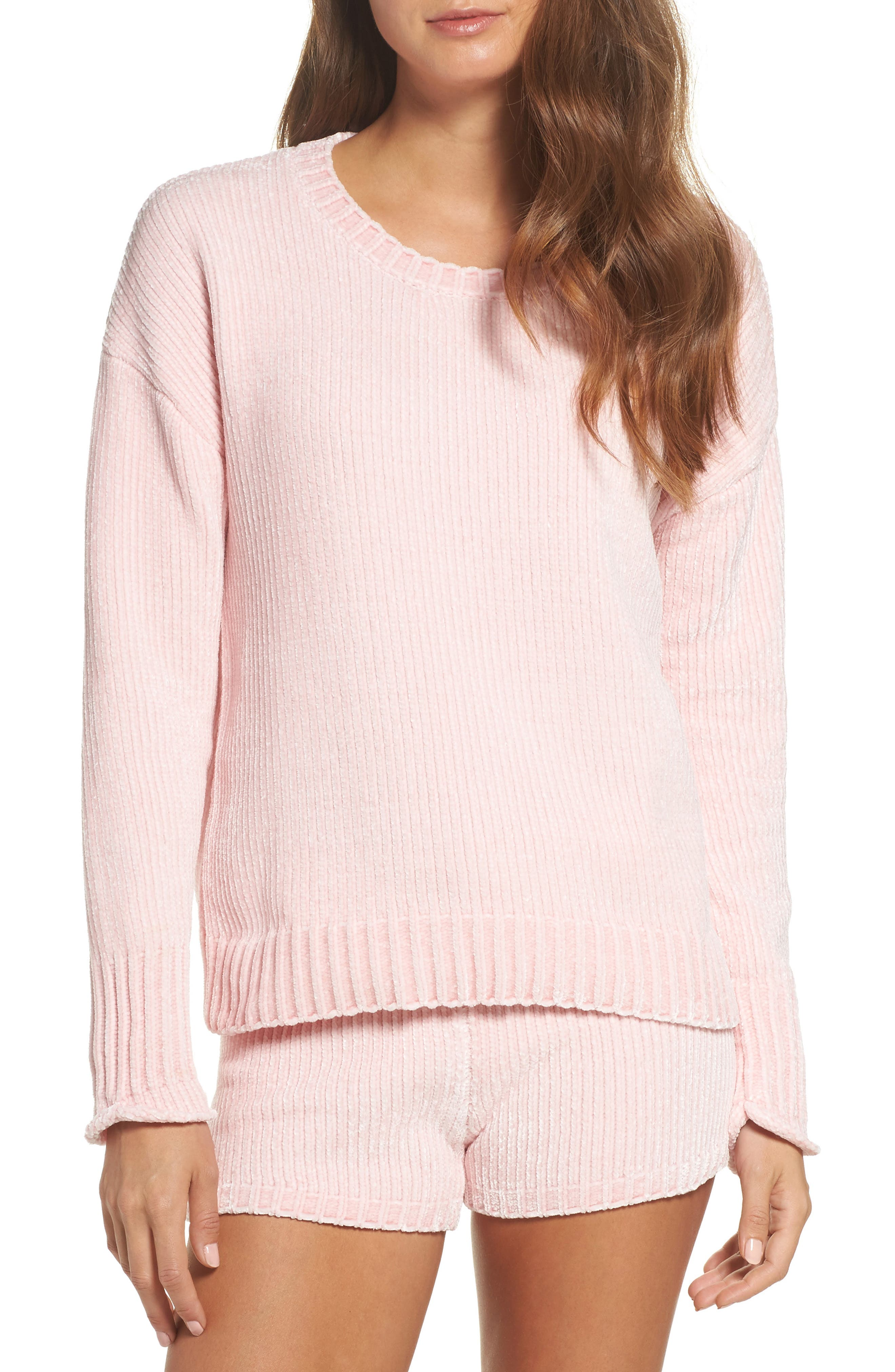 Alternate Image 1 Selected - PJ Salvage Chenille Sweater
