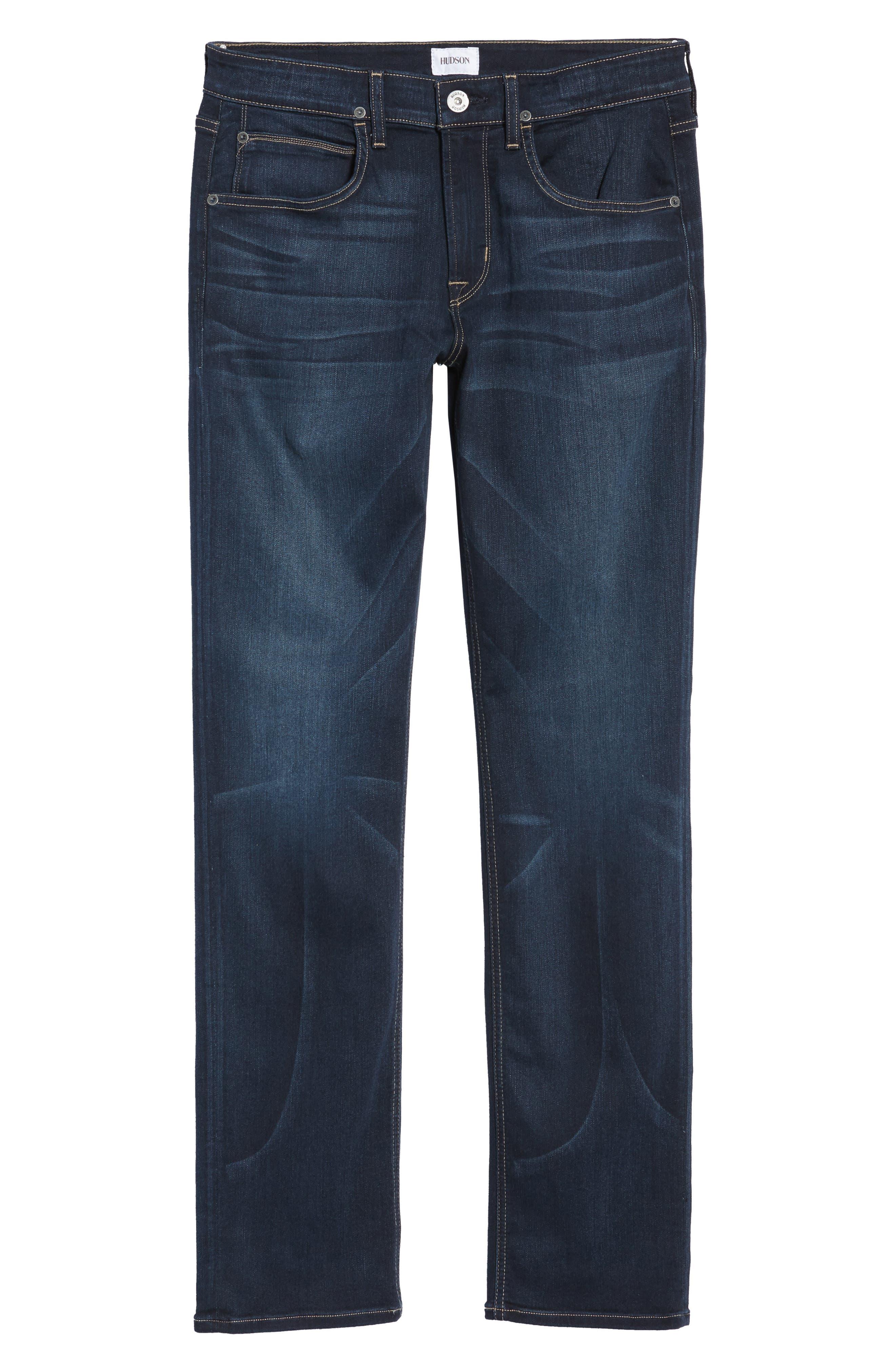 Alternate Image 6  - Hudson Jeans Byron Slim Straight Fit Jeans (Newburyport)