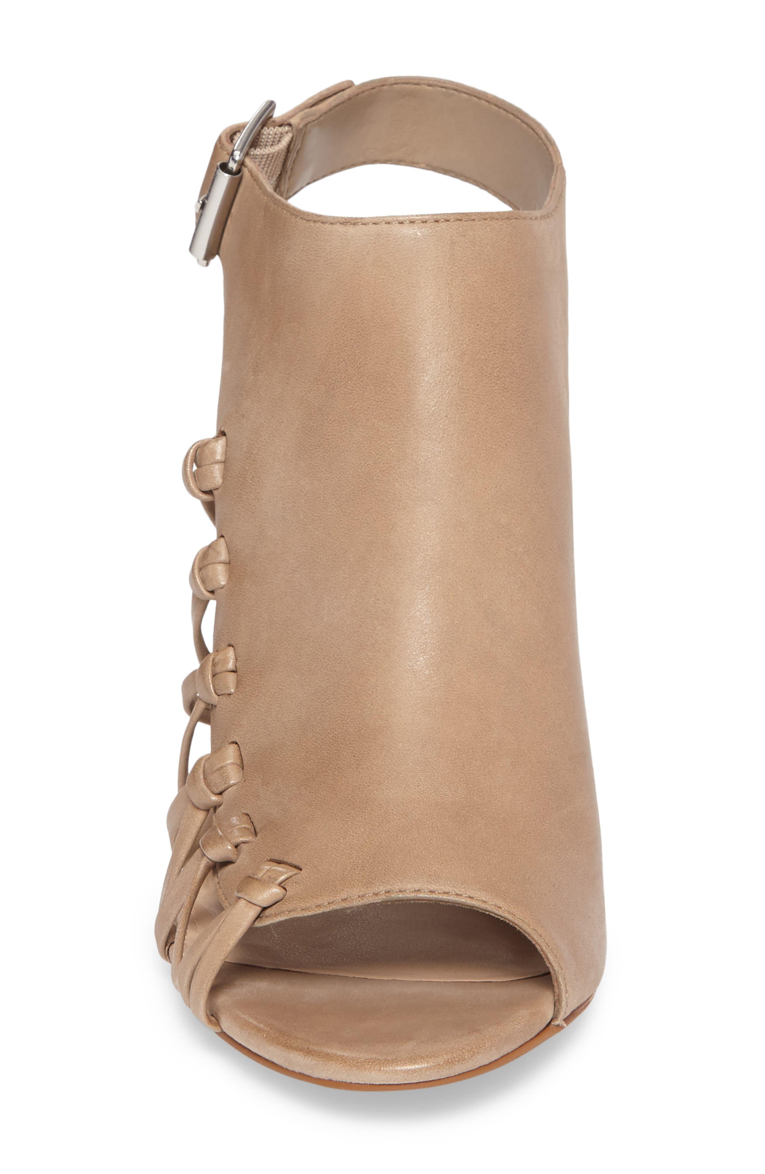 Ankara Sandal,                             Alternate thumbnail 4, color,                             Urban Beige Leather