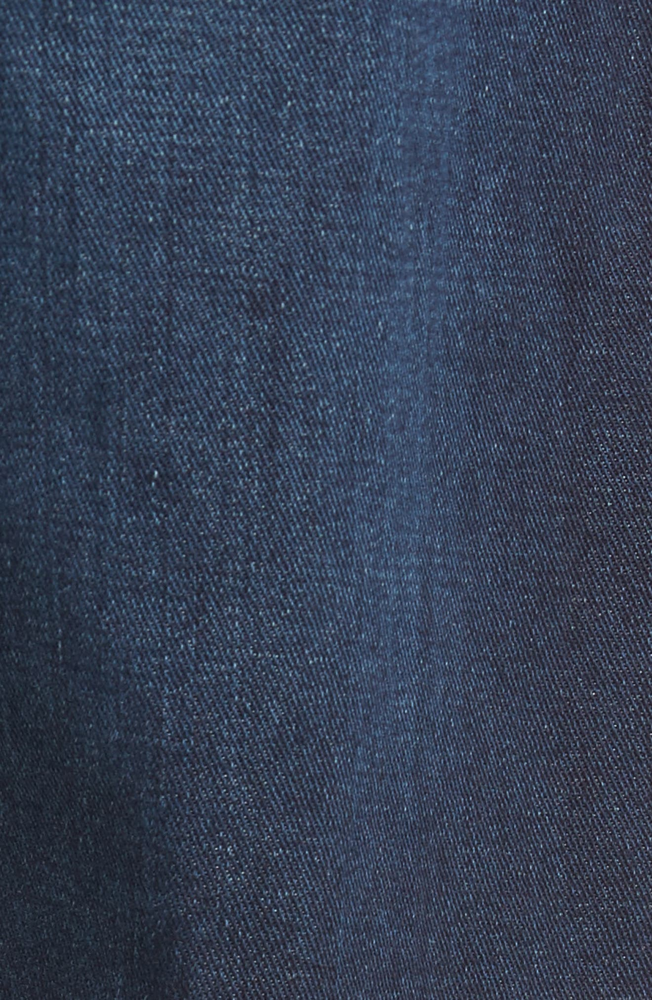Alternate Image 5  - AG Everett Slim Straight Fit Jeans (Witness)
